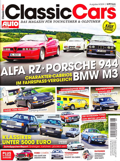 Auto Zeitung - Classic Cars 8/2019