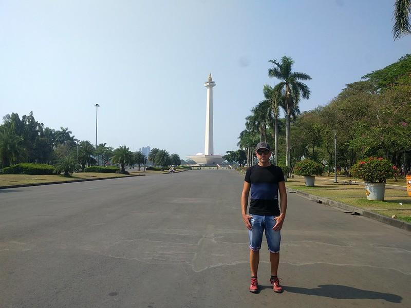Monumento Nacional en Yakarta