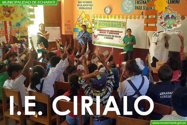 Atención en salud a alumnos de Kepashiato Kiteni y Cirialo