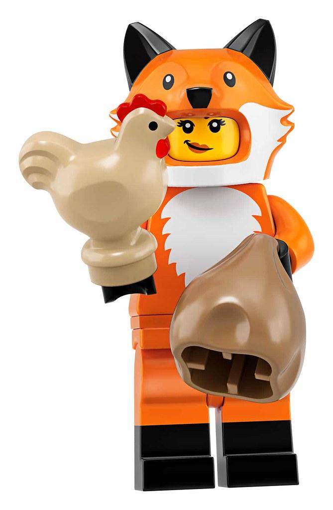 「正式人偶名稱&販售資訊更新!」齊天大聖駕到!還有超逗趣披薩人~ LEGO 71025【樂高人偶抽抽包第十九彈】LEGO Collectible Minifigures Series 19