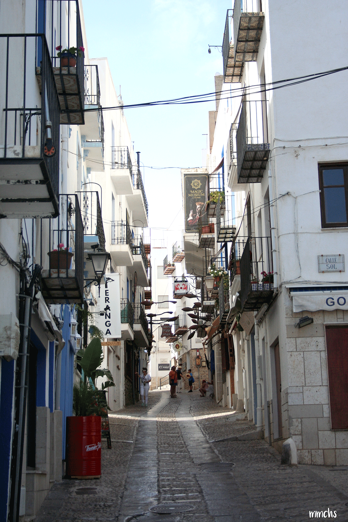 casco antiguo Peñíscola