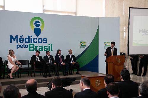 Lançamento do Programa Médicos pelo Brasil