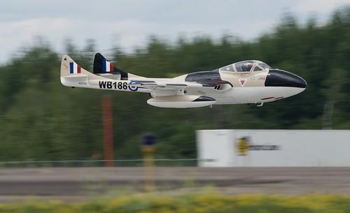 N23105, 1959 De Havilland (F+W Emmen) VAMPIRE T55 (DH 115) Duluth Mn (DLH) 2019 Airshow