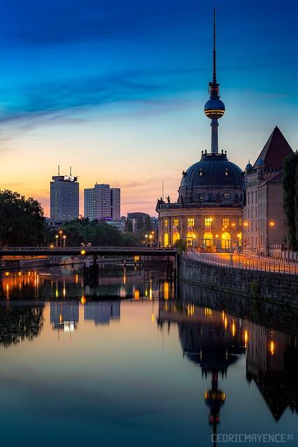 Berlin at dusk (DE)