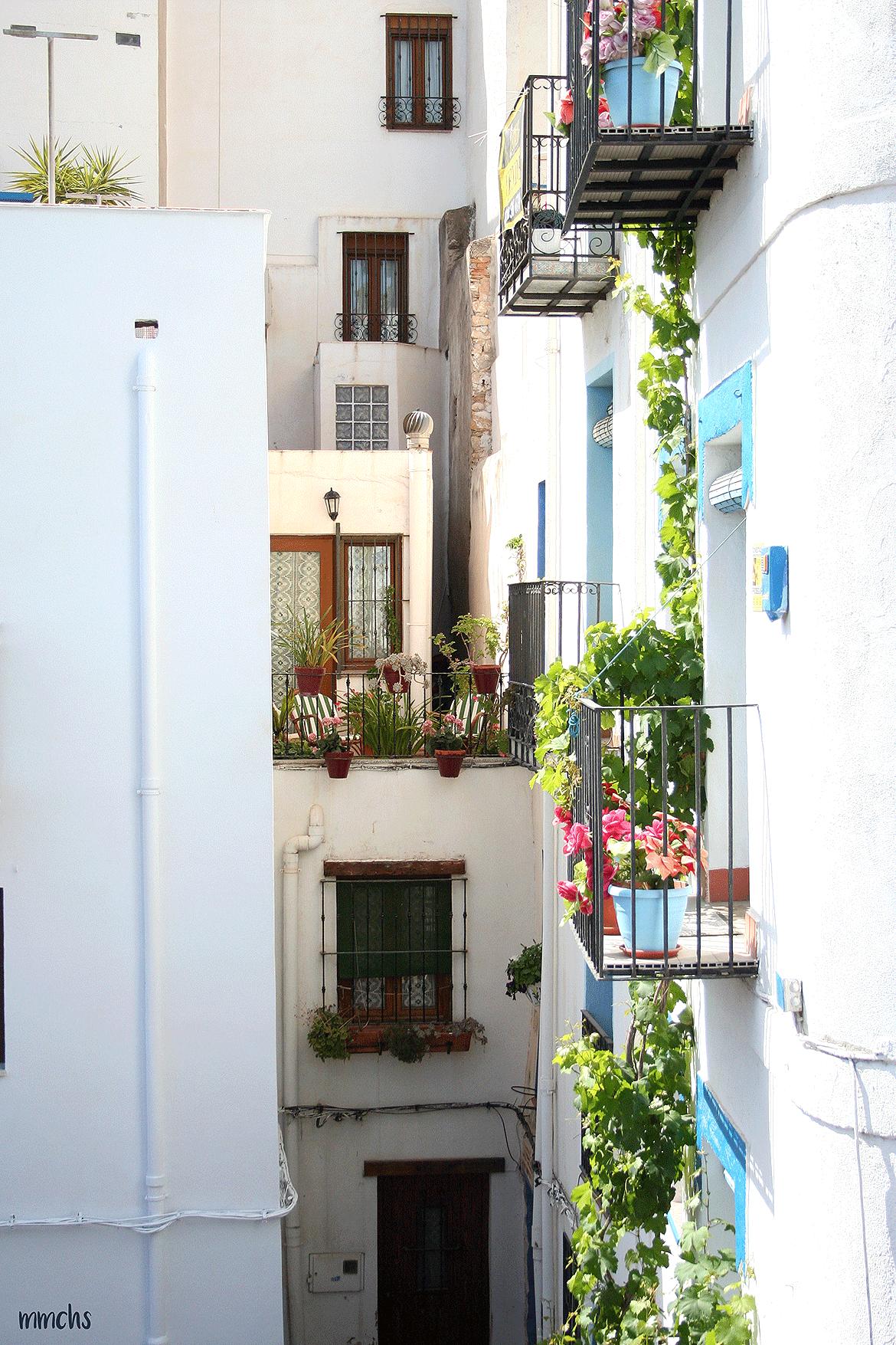 casco antiguo Peñíscola