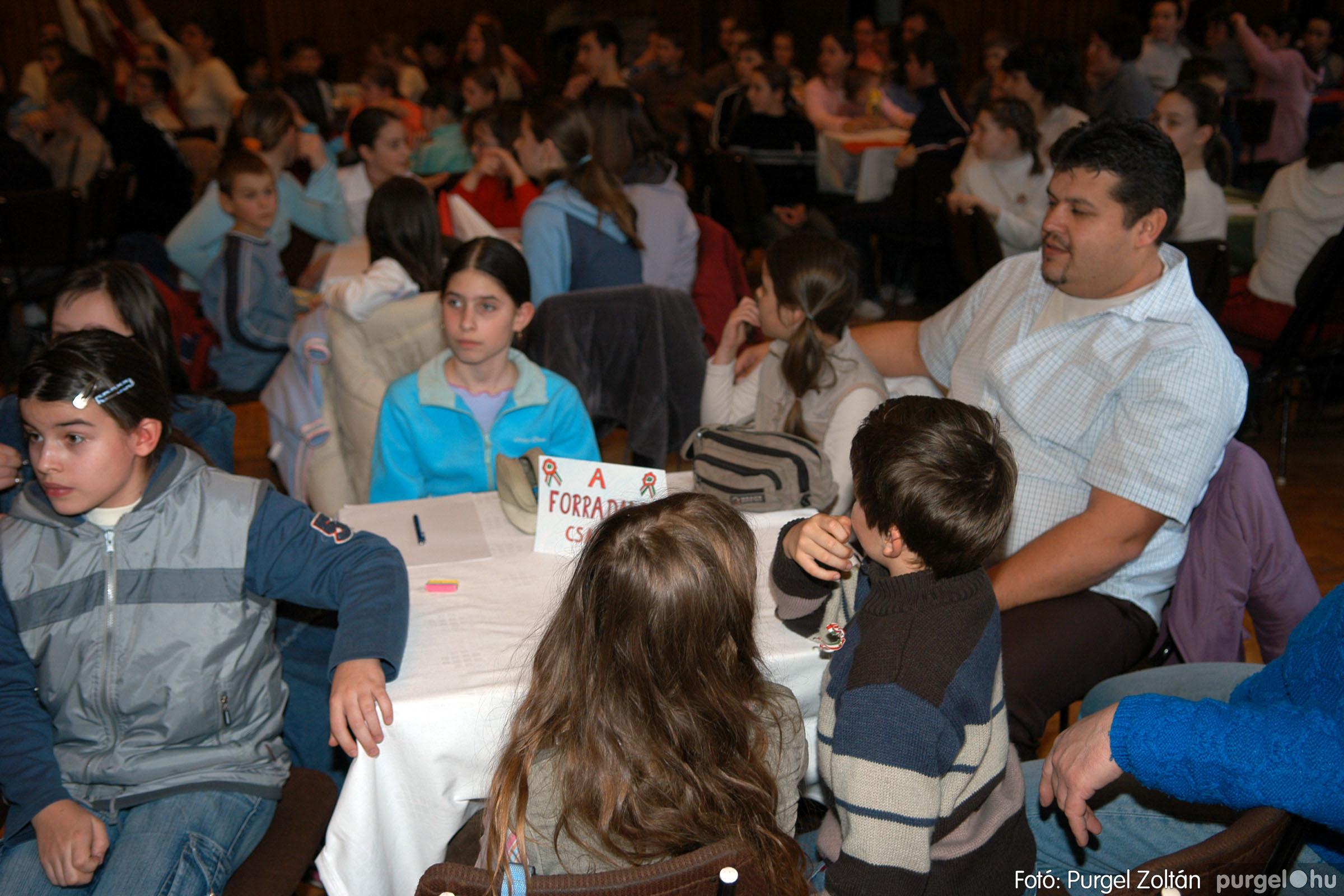 2006.03.15. 009 Forray Máté Általános Iskola iskolatörténeti vetélkedő - Fotó:PURGEL ZOLTÁN© DSC_0062q.jpg