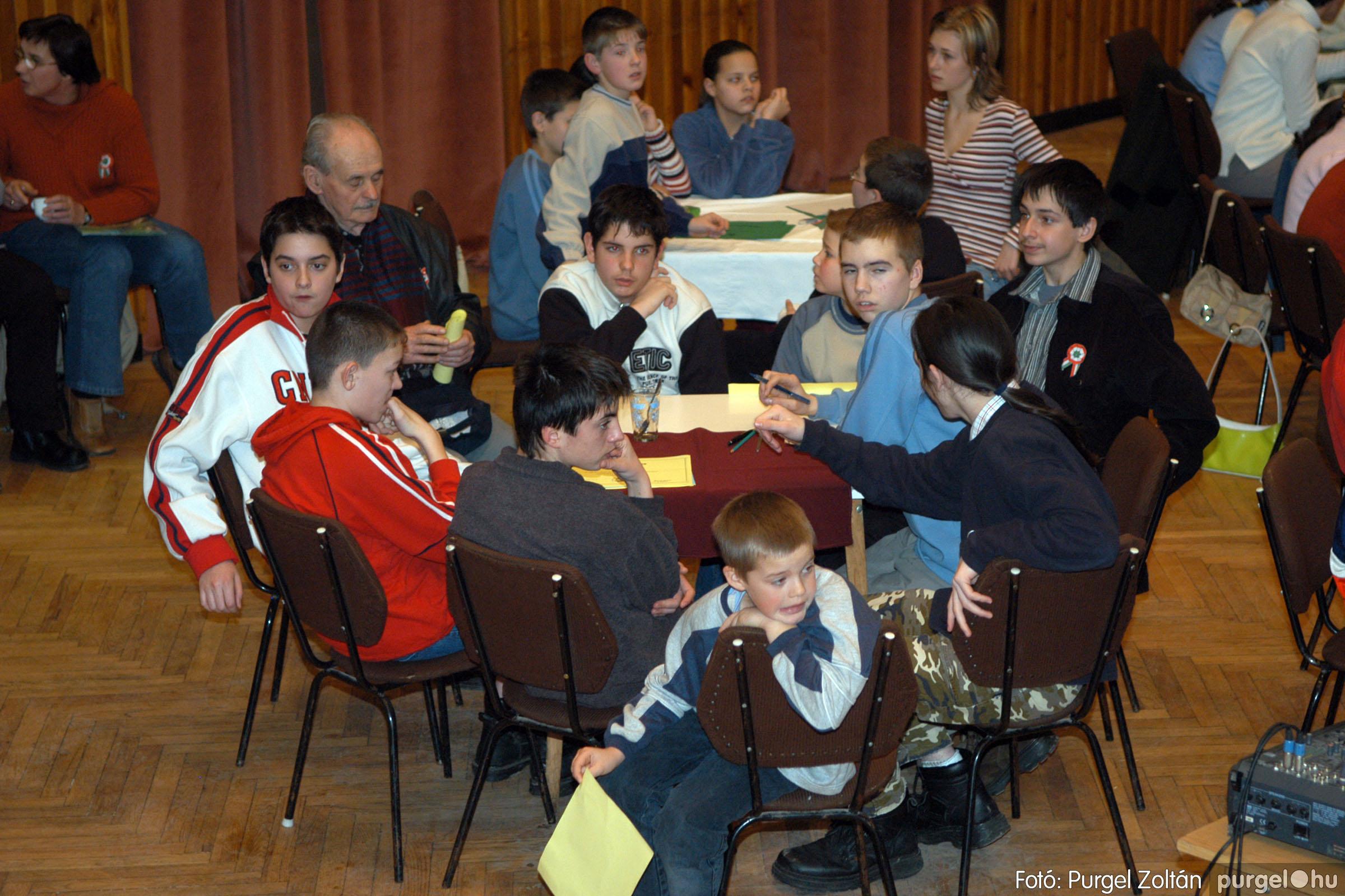 2006.03.15. 017 Forray Máté Általános Iskola iskolatörténeti vetélkedő - Fotó:PURGEL ZOLTÁN© DSC_0070q.jpg