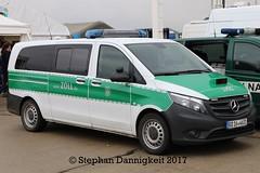Büromobil/ Streifenfahrzeug des Zoll BD 16-4631