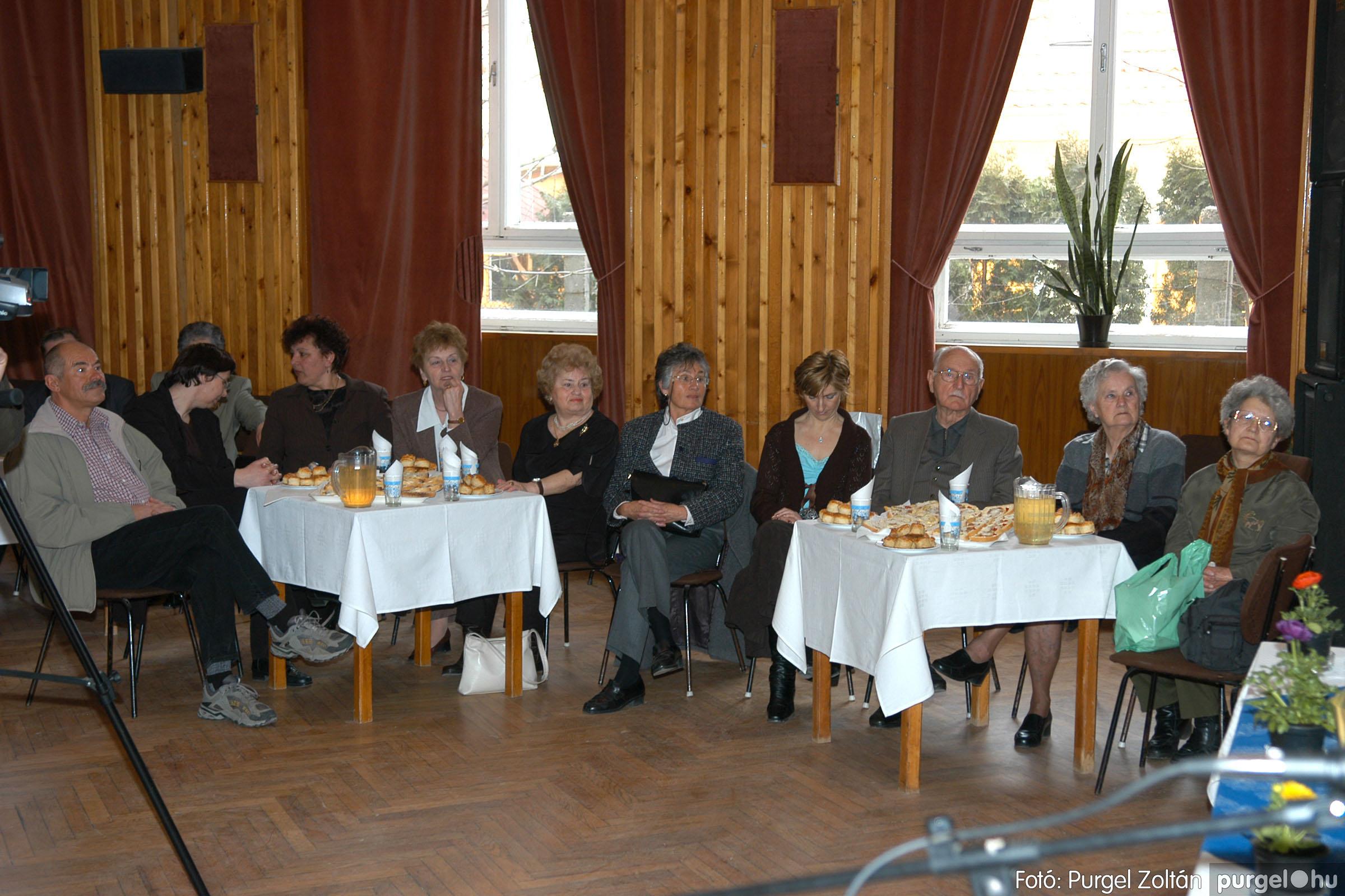 2006.03.18. 011 Pedagógus találkozó és iskolatörténeti kiállítás - Fotó:PURGEL ZOLTÁN©.jpg