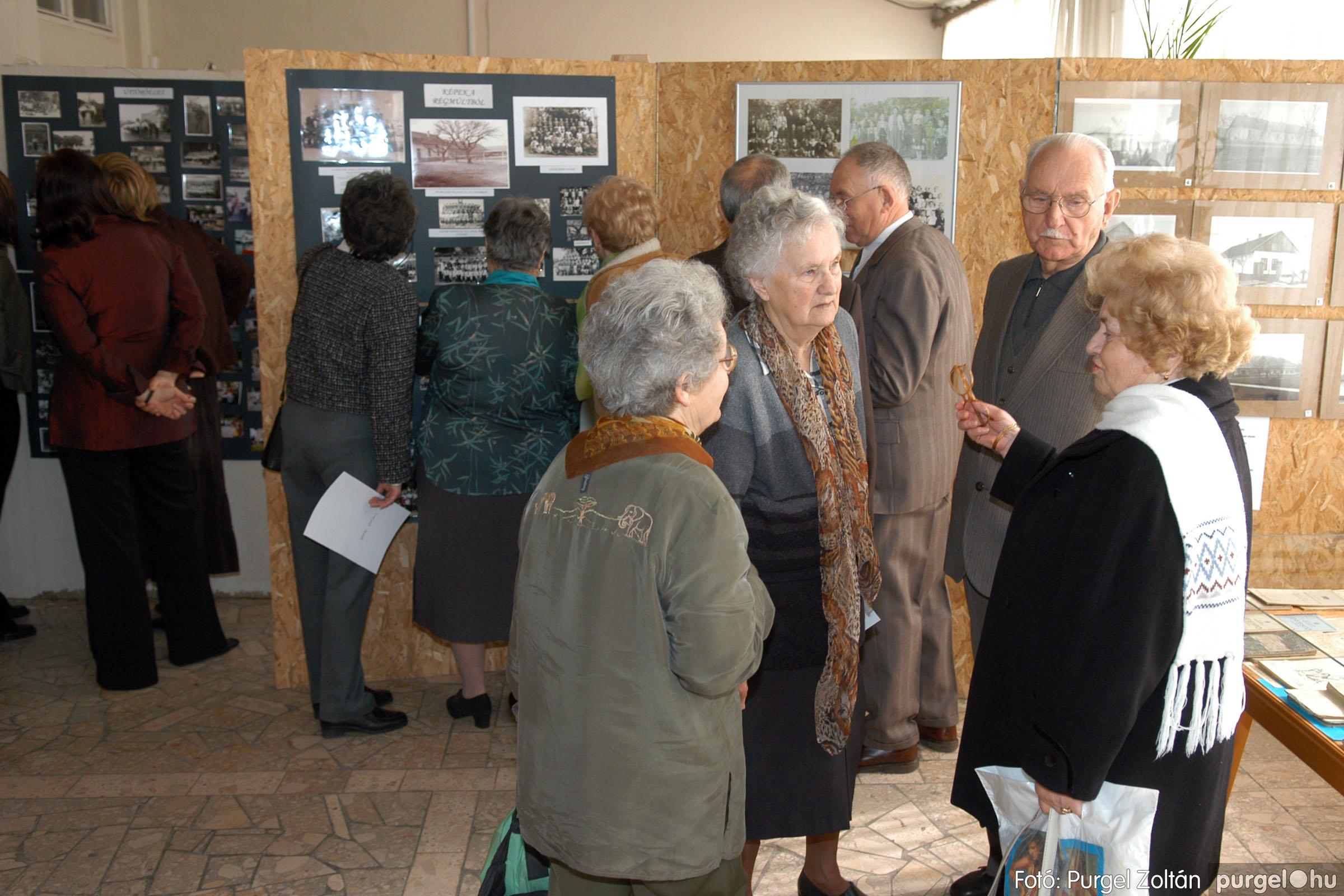 2006.03.18. 002 Pedagógus találkozó és iskolatörténeti kiállítás - Fotó:PURGEL ZOLTÁN©.jpg