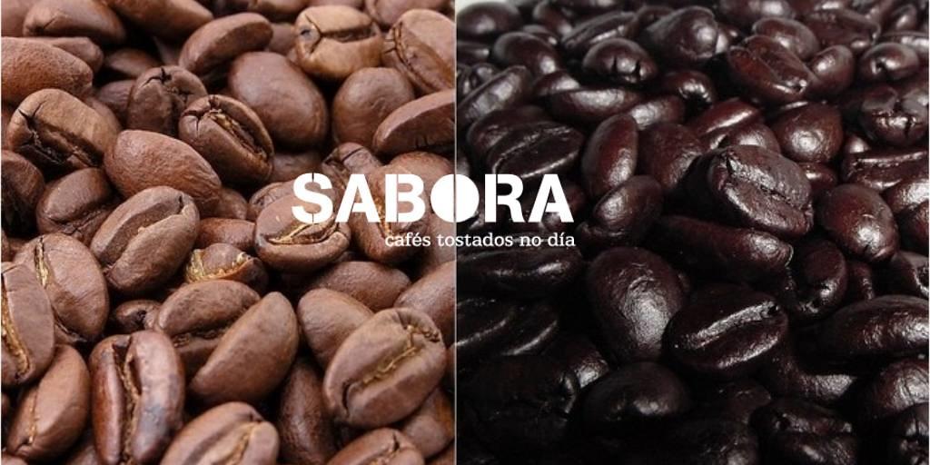 Granos de café tueste natural y torrefacto