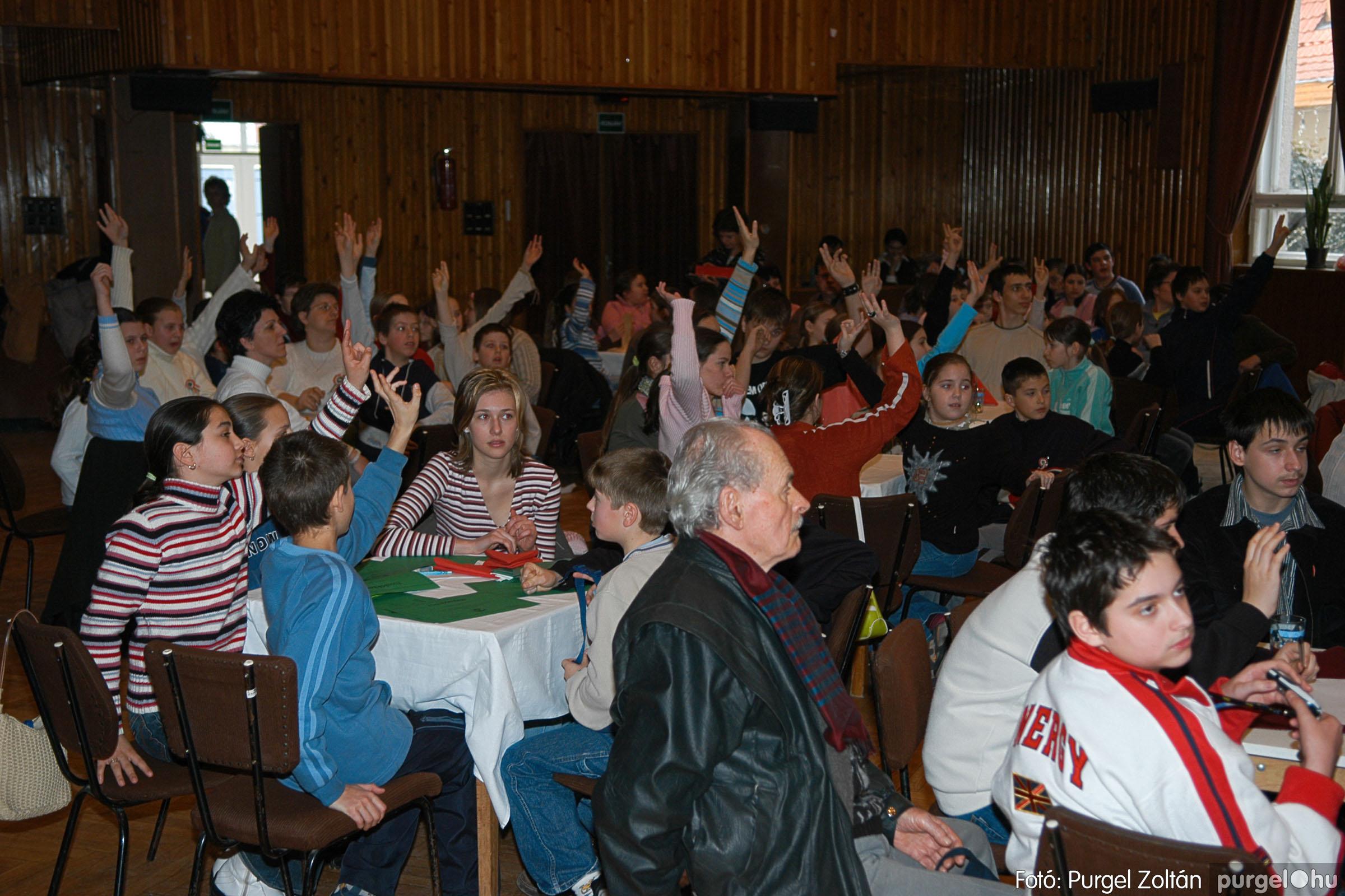 2006.03.15. 006 Forray Máté Általános Iskola iskolatörténeti vetélkedő - Fotó:PURGEL ZOLTÁN© DSC_0059q.jpg