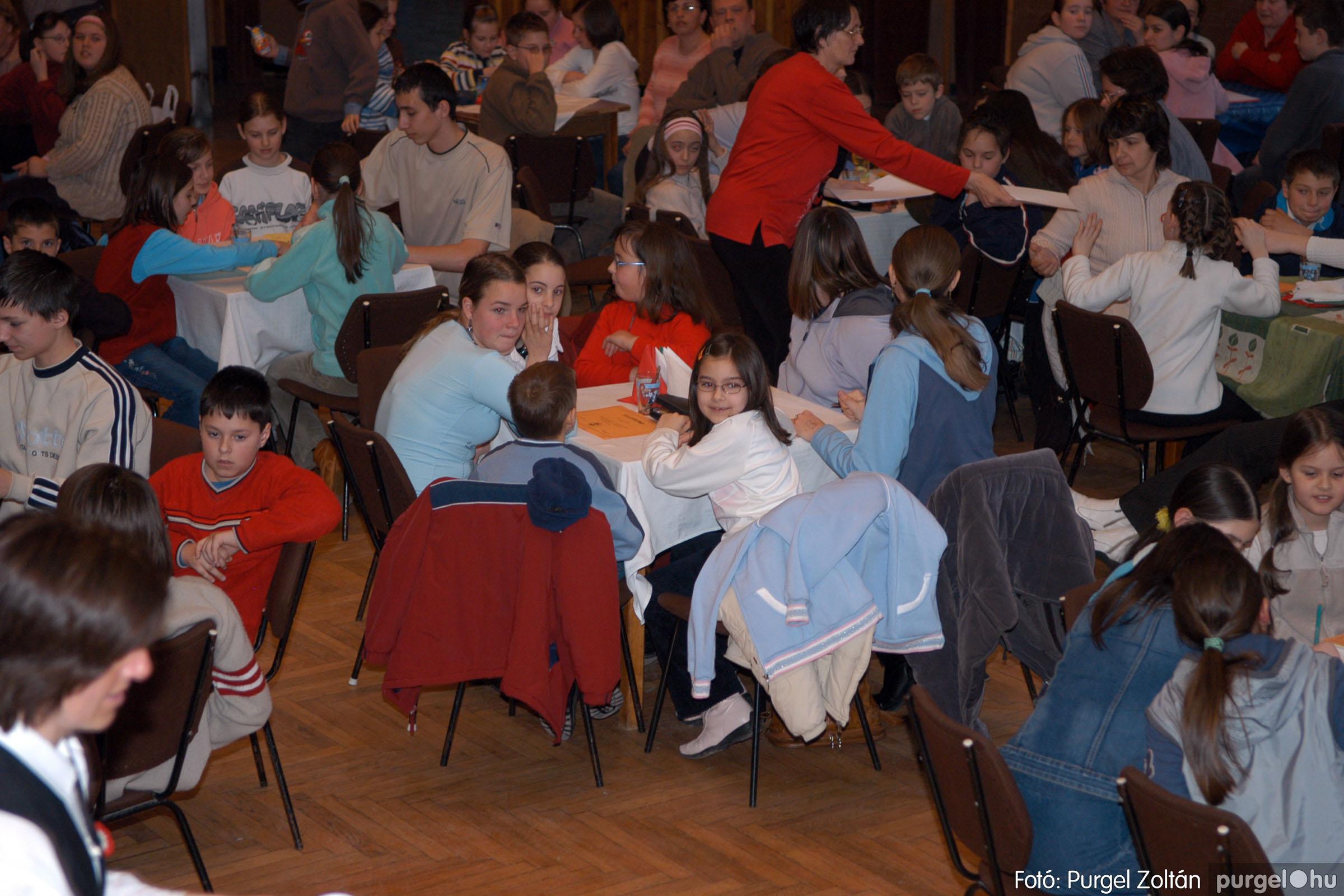 2006.03.15. 016 Forray Máté Általános Iskola iskolatörténeti vetélkedő - Fotó:PURGEL ZOLTÁN© DSC_0069q.jpg