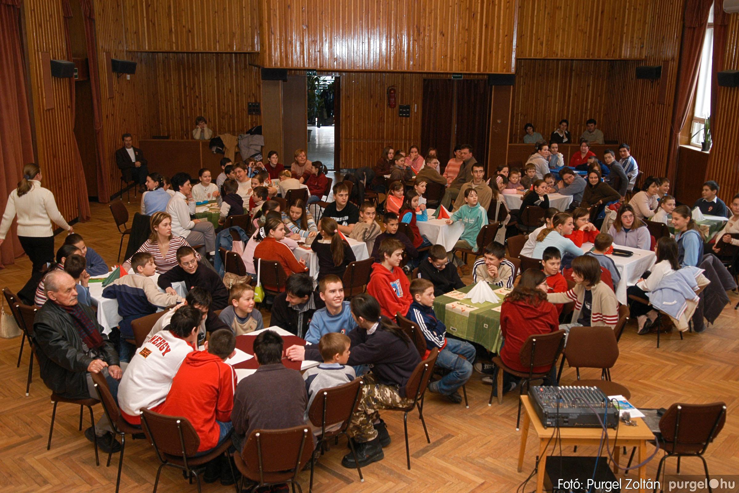 2006.03.15. 002 Forray Máté Általános Iskola iskolatörténeti vetélkedő - Fotó:PURGEL ZOLTÁN© DSC_0055q.jpg