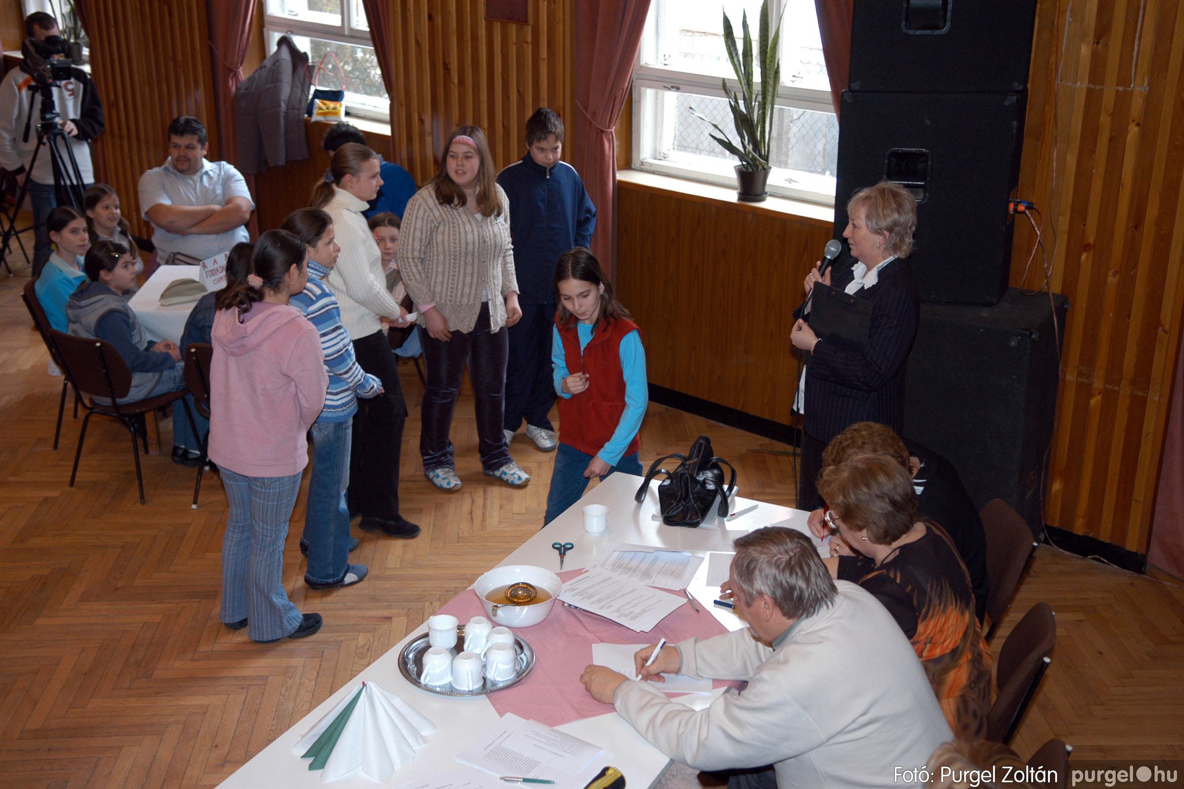 2006.03.15. 001 Forray Máté Általános Iskola iskolatörténeti vetélkedő - Fotó:PURGEL ZOLTÁN© DSC_0054q.jpg