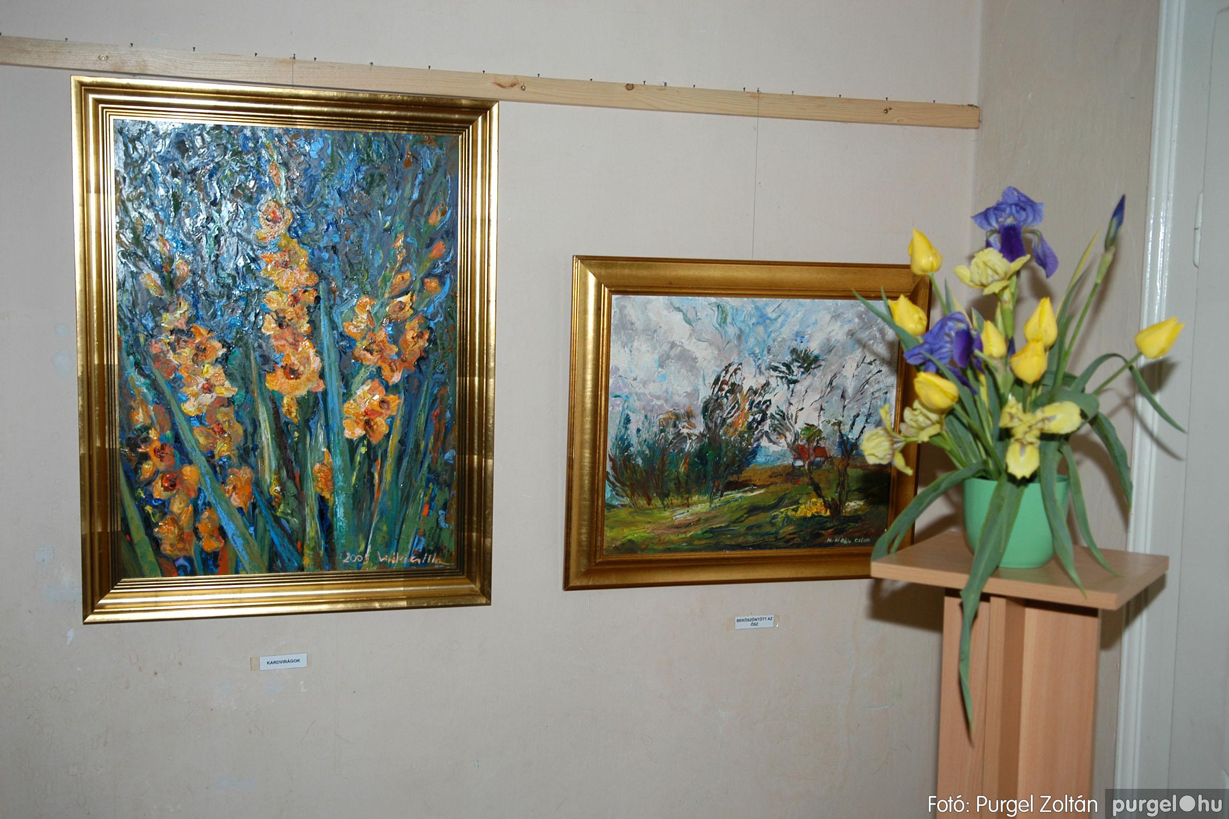 2006.04.30. 042 Virók Csilla festőművész kiállítása - Fotó:PURGEL ZOLTÁN© DSC_0052q.jpg