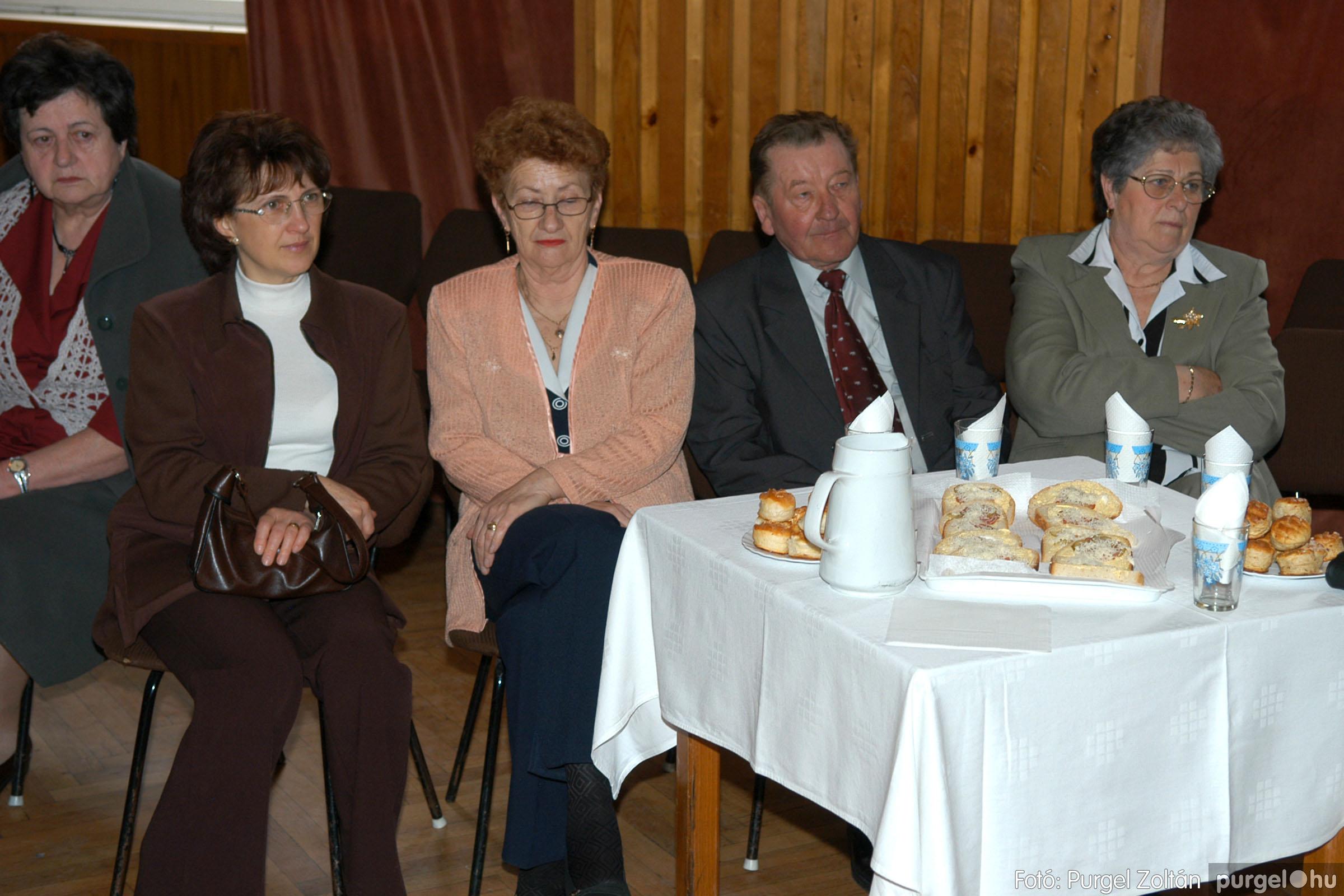 2006.03.18. 017 Pedagógus találkozó és iskolatörténeti kiállítás - Fotó:PURGEL ZOLTÁN©.jpg