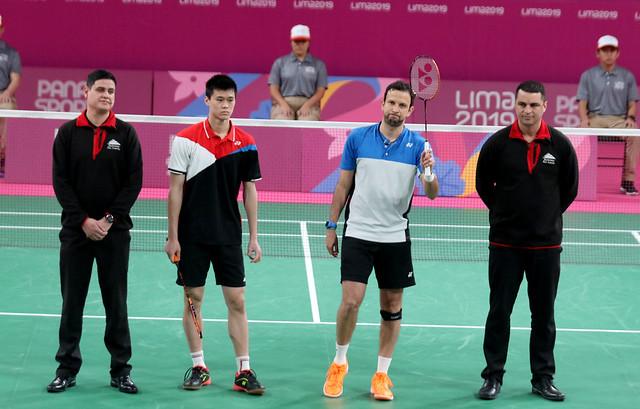 Semifinales Kevin Cordón, Lima 2019