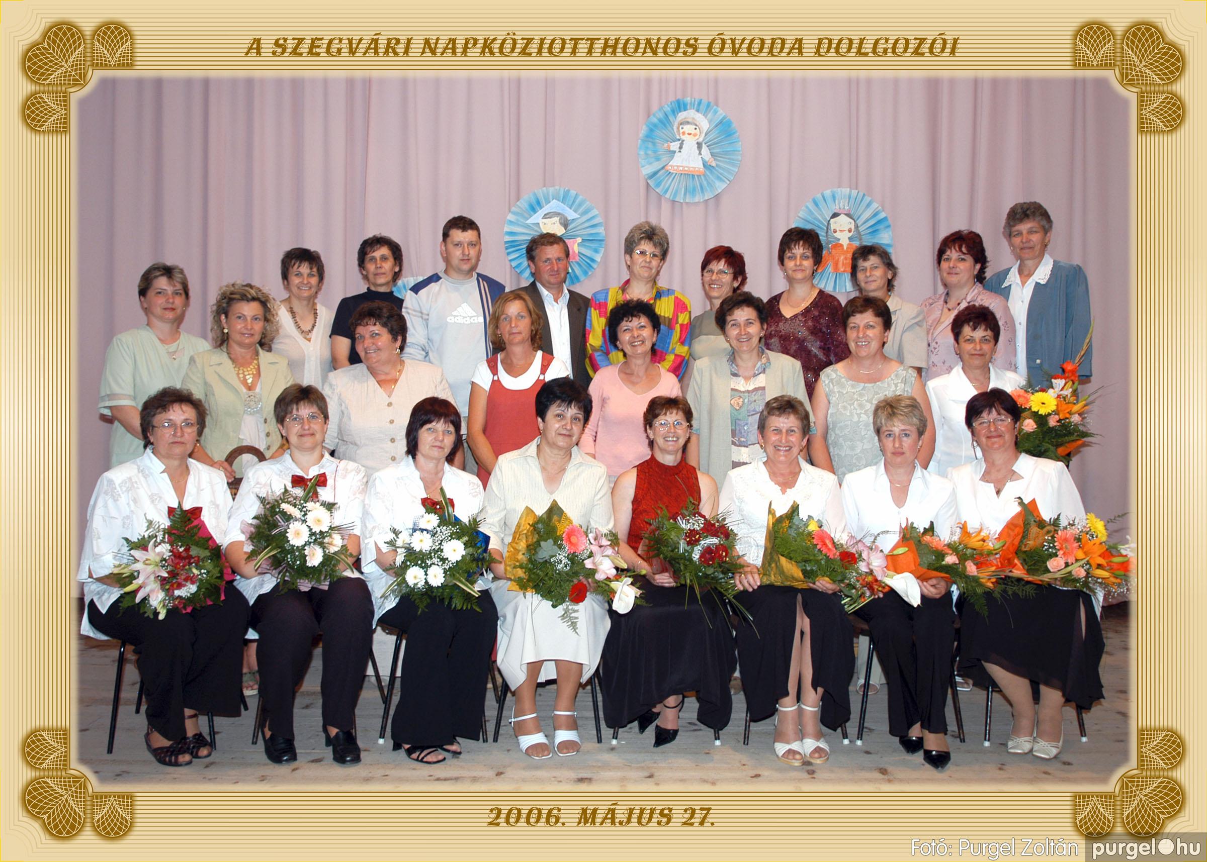 2006.05.10-27. 031 Kurca-parti Óvoda csoportképek 2006. - Fotó:PURGEL ZOLTÁN© pedagógusok.jpg