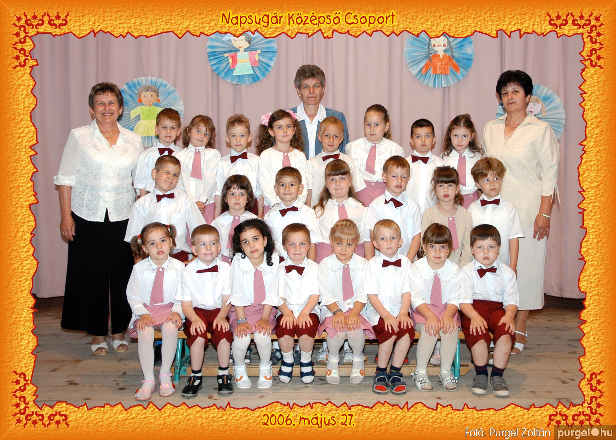 2006.05.10-27. 016 Kurca-parti Óvoda csoportképek 2006. - Fotó:PURGEL ZOLTÁN© csoport-453-napsugár.jpg
