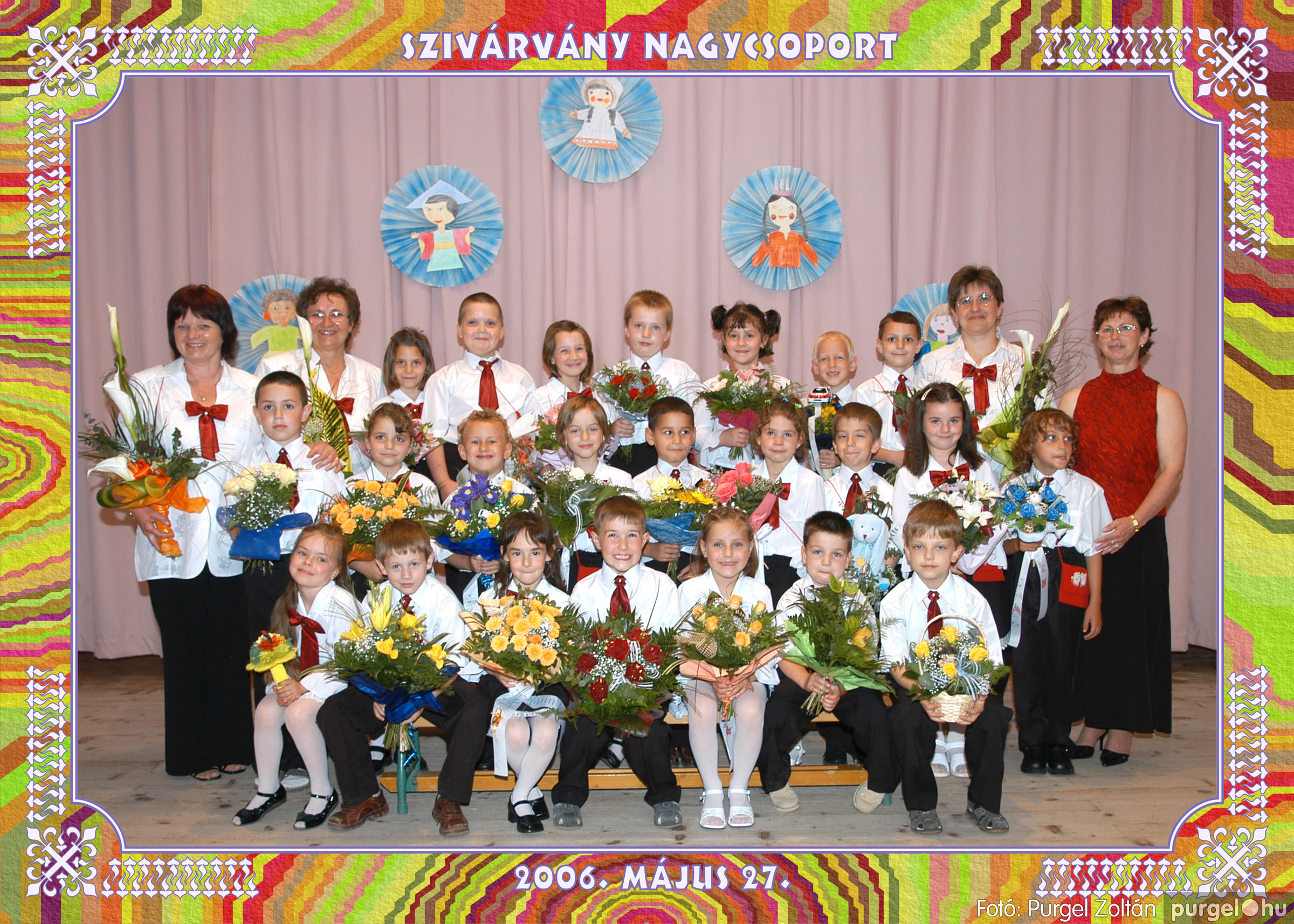 2006.05.10-27. 023 Kurca-parti Óvoda csoportképek 2006. - Fotó:PURGEL ZOLTÁN© csoport-652-szivárvány.jpg