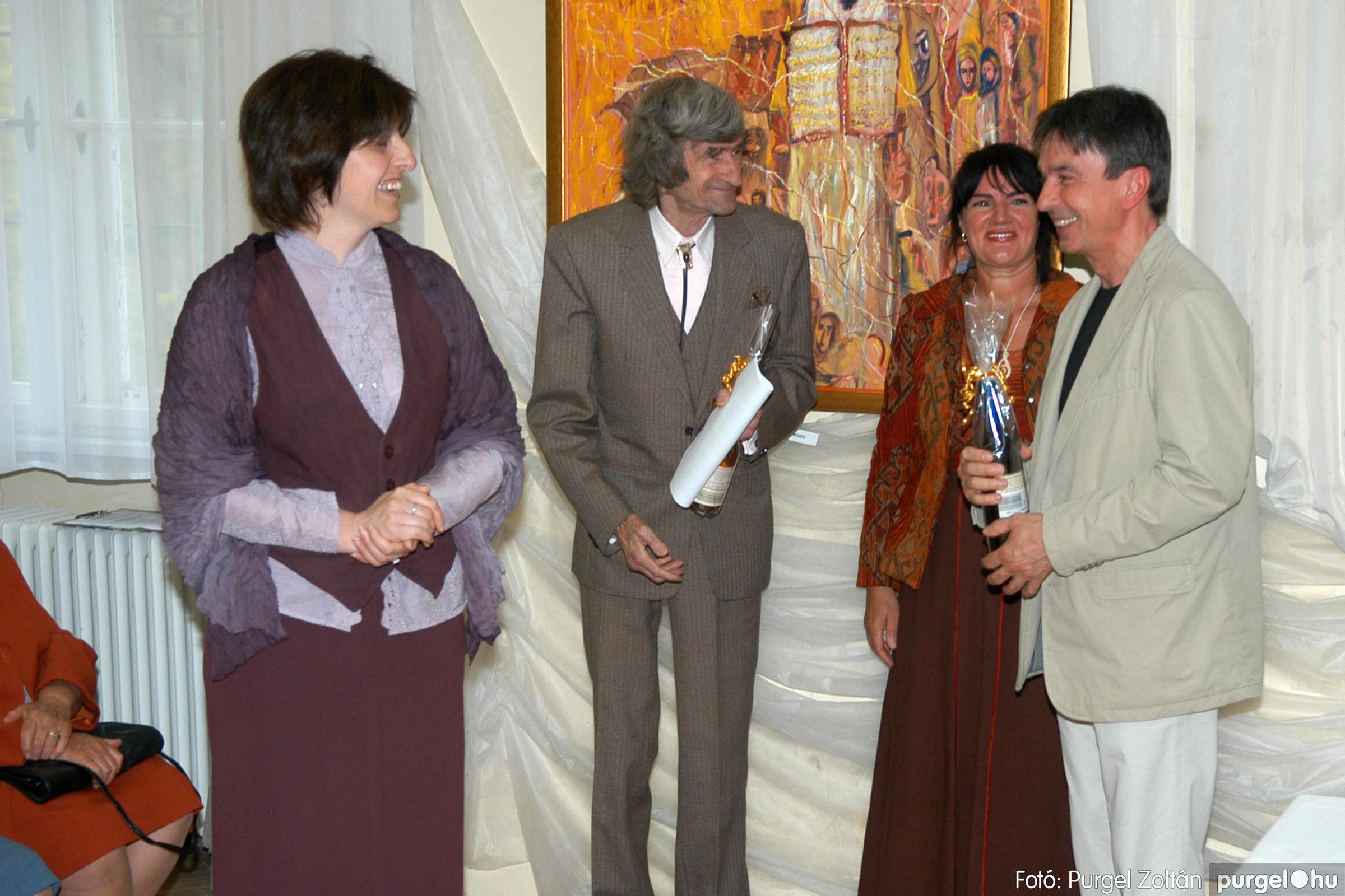 2006.04.30. 026 Virók Csilla festőművész kiállítása - Fotó:PURGEL ZOLTÁN© DSC_0033q.jpg