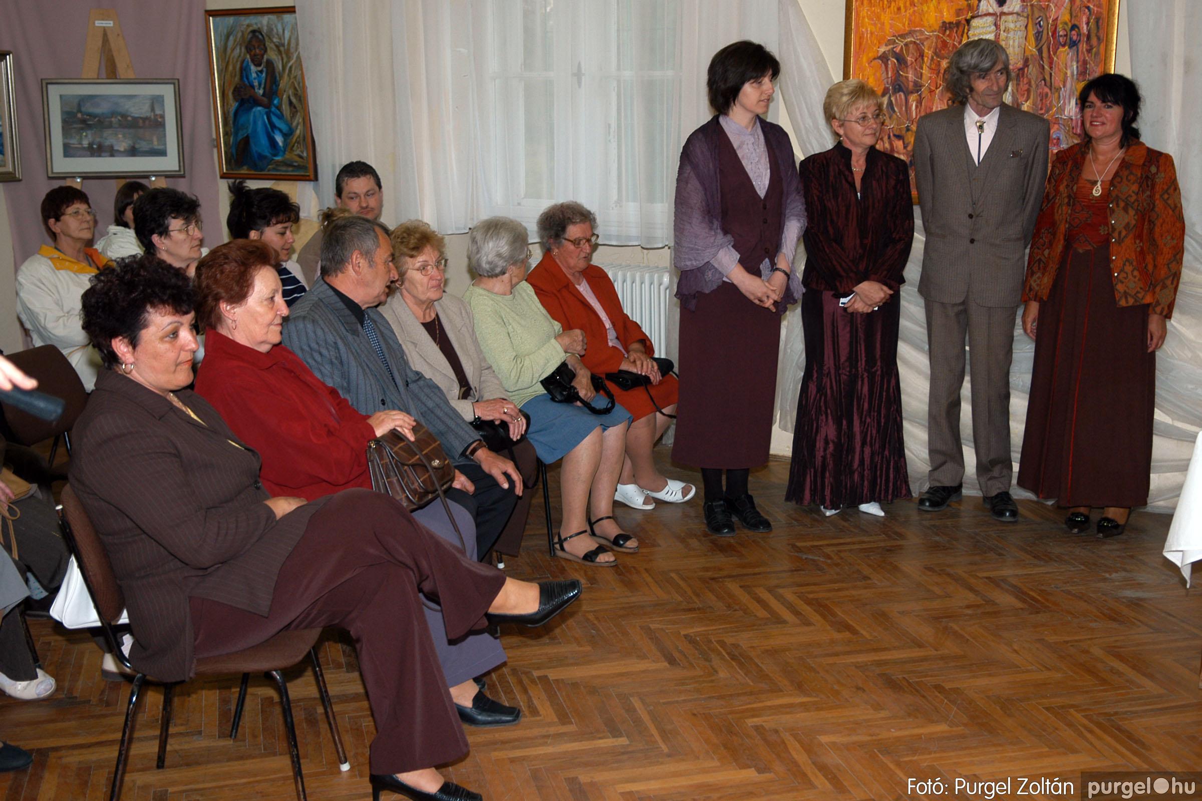 2006.04.30. 001 Virók Csilla festőművész kiállítása - Fotó:PURGEL ZOLTÁN© DSC_0001q.jpg