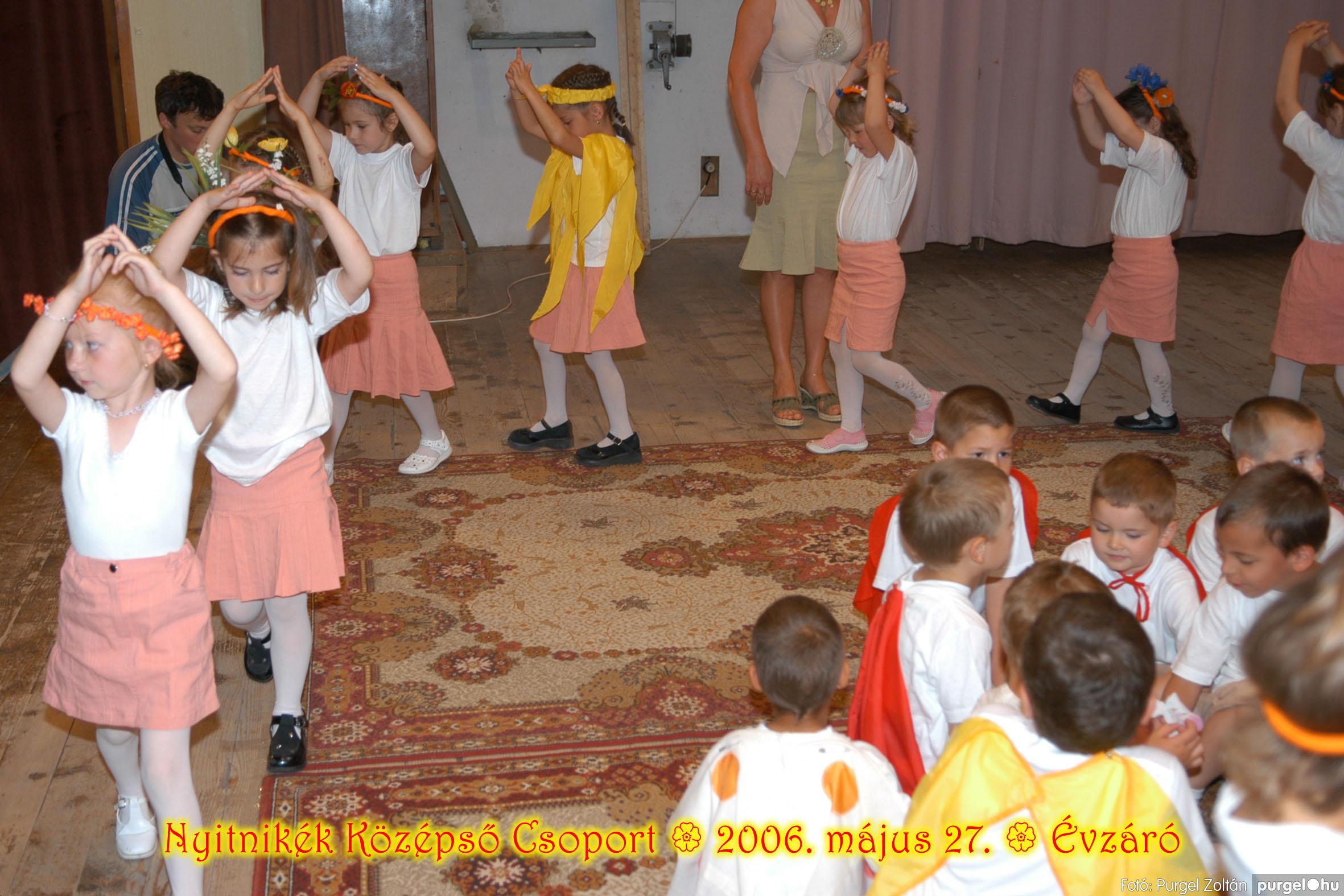 2006.05.27. 163 Kurca-parti Óvoda évzáró 2006. - Nyitnikék csoport - Fotó:PURGEL ZOLTÁN© 531.jpg