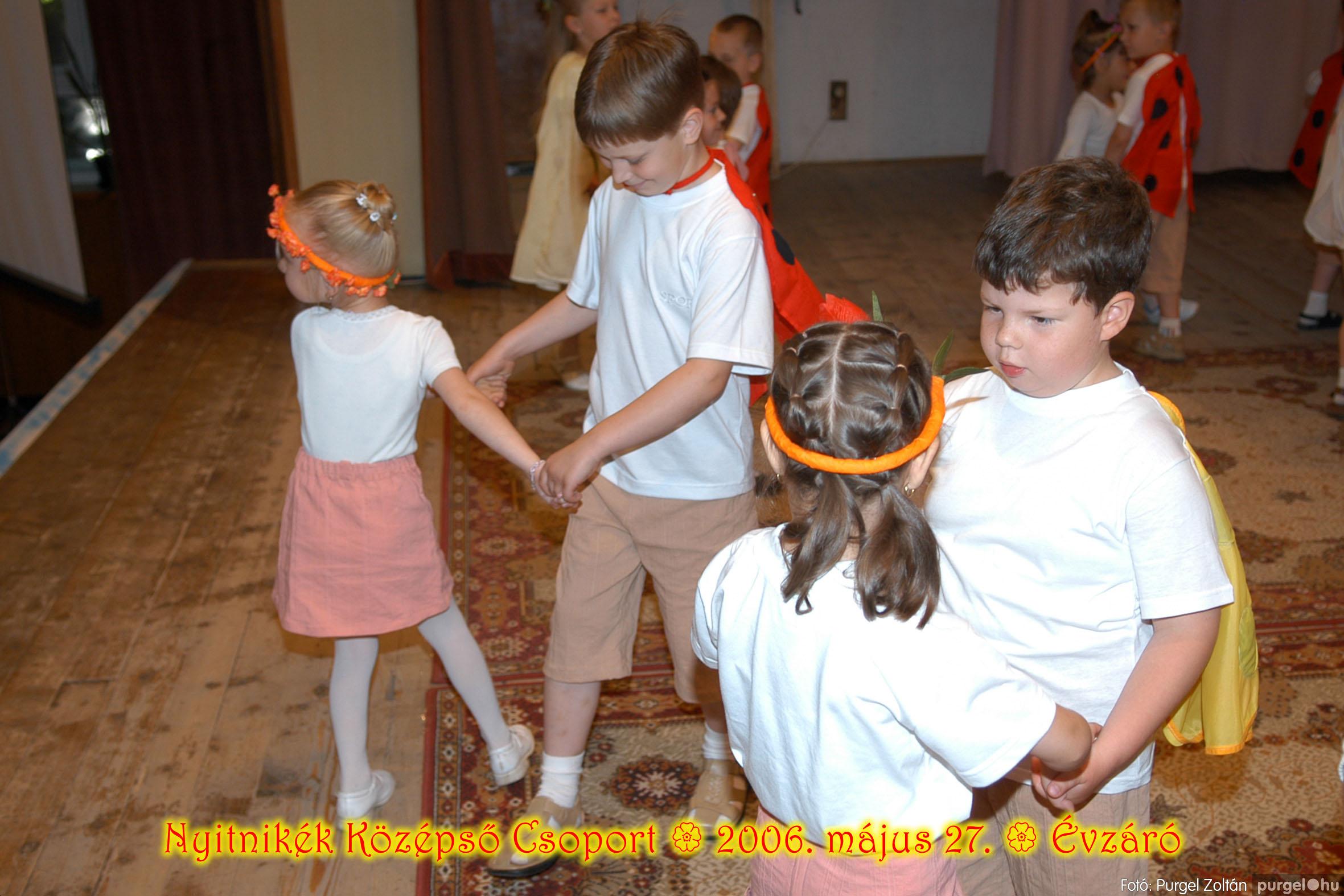 2006.05.27. 134 Kurca-parti Óvoda évzáró 2006. - Nyitnikék csoport - Fotó:PURGEL ZOLTÁN© 502.jpg