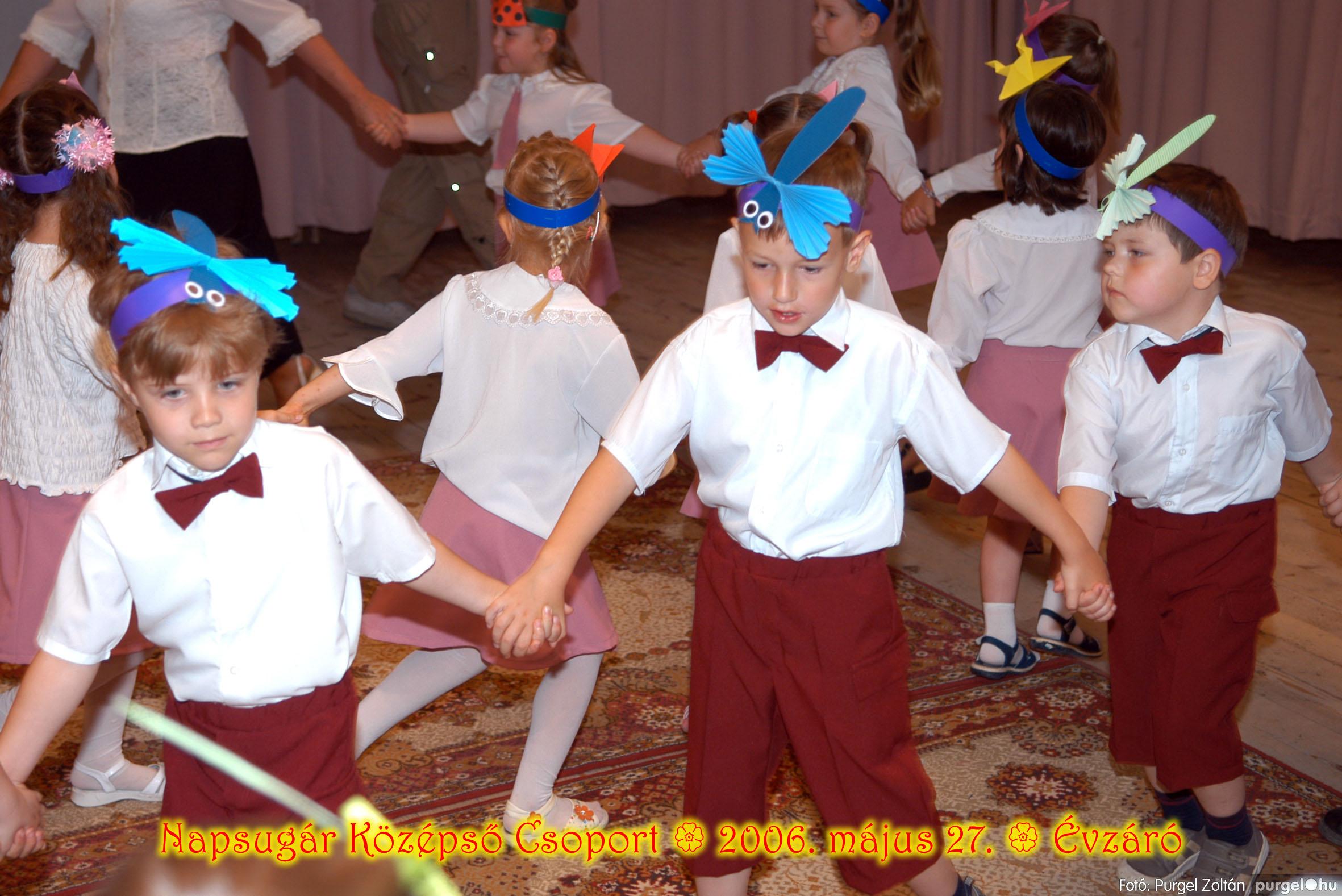 2006.05.27. 120 Kurca-parti Óvoda évzáró 2006. - Napsugár csoport - Fotó:PURGEL ZOLTÁN© 418.jpg