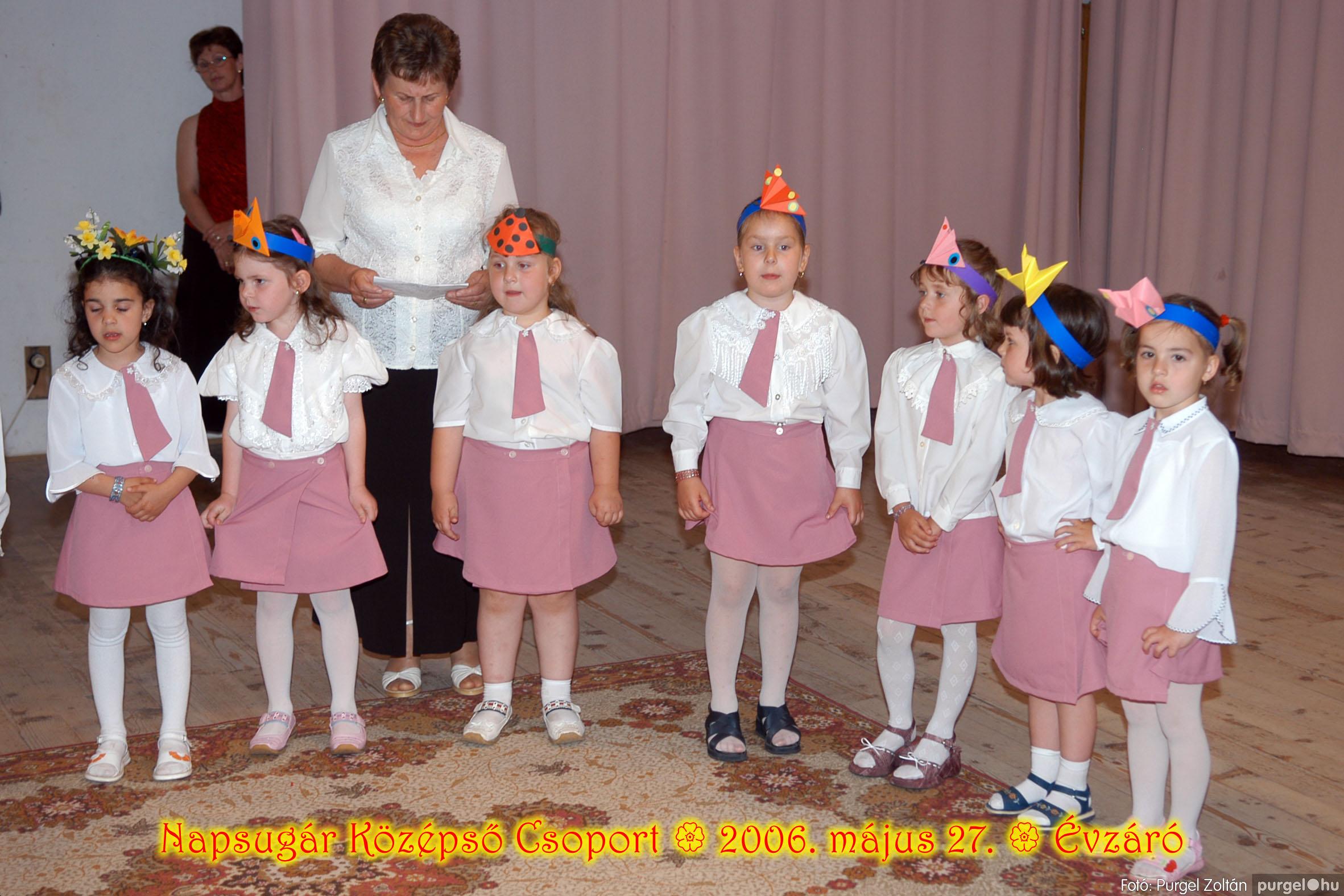 2006.05.27. 116 Kurca-parti Óvoda évzáró 2006. - Napsugár csoport - Fotó:PURGEL ZOLTÁN© 414.jpg