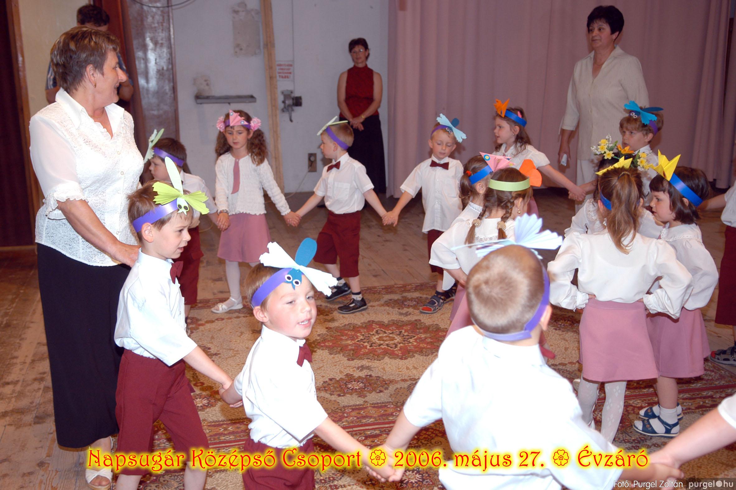 2006.05.27. 111 Kurca-parti Óvoda évzáró 2006. - Napsugár csoport - Fotó:PURGEL ZOLTÁN© 409.jpg