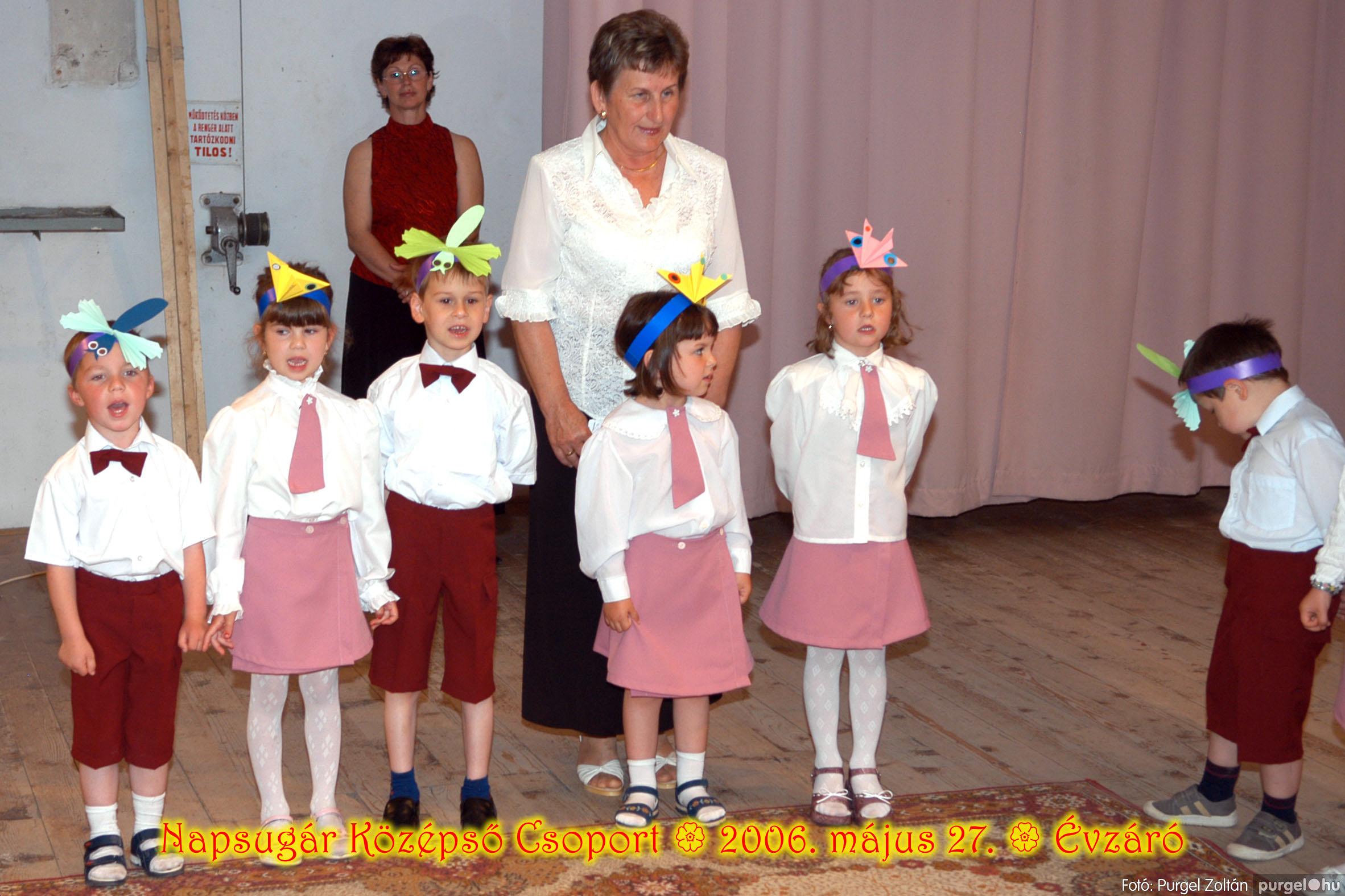 2006.05.27. 109 Kurca-parti Óvoda évzáró 2006. - Napsugár csoport - Fotó:PURGEL ZOLTÁN© 407.jpg
