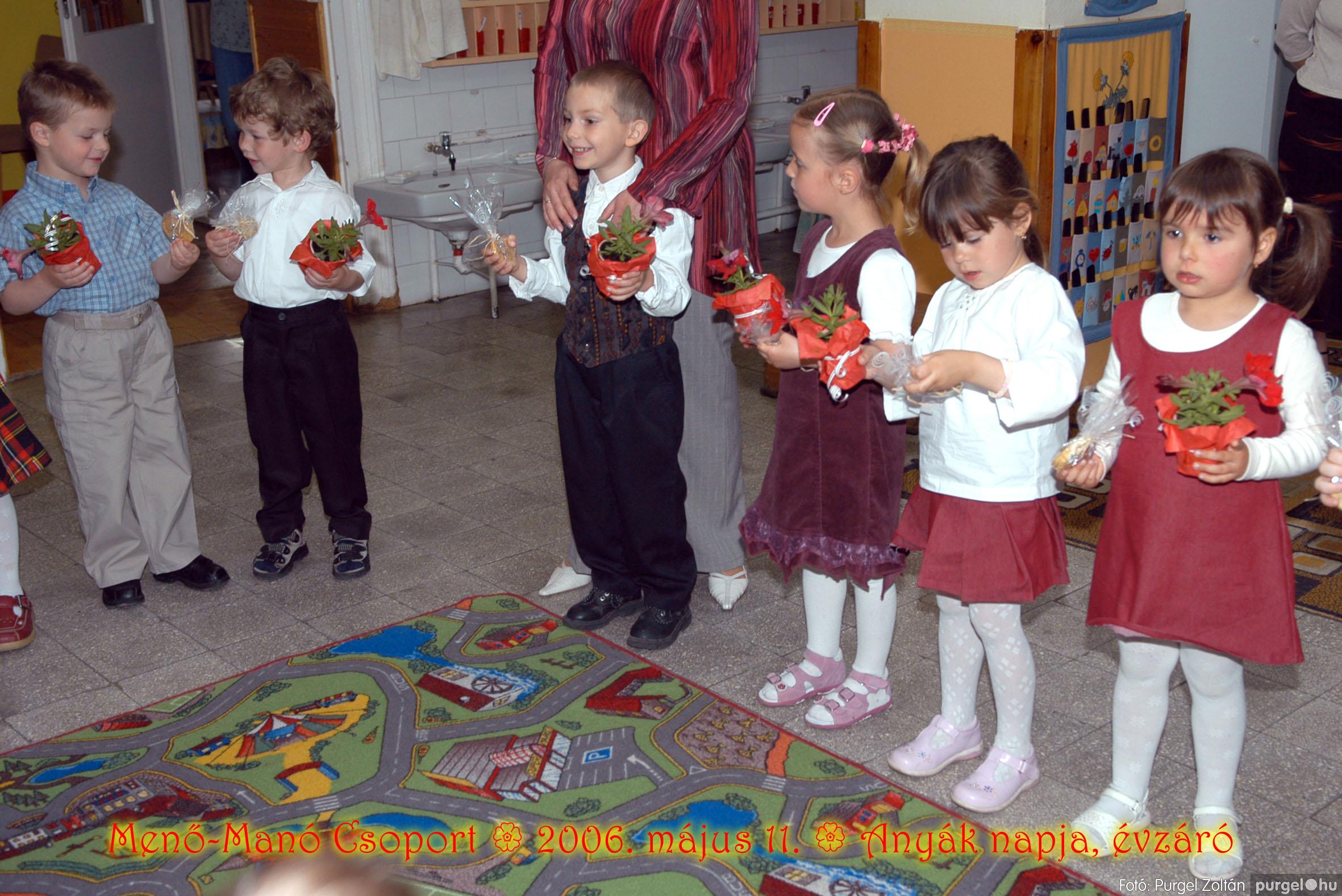 2006.05.11. 037 Kurca-parti Óvoda évzáró 2006. - Menő-Manó csoport - Fotó:PURGEL ZOLTÁN© 319.jpg