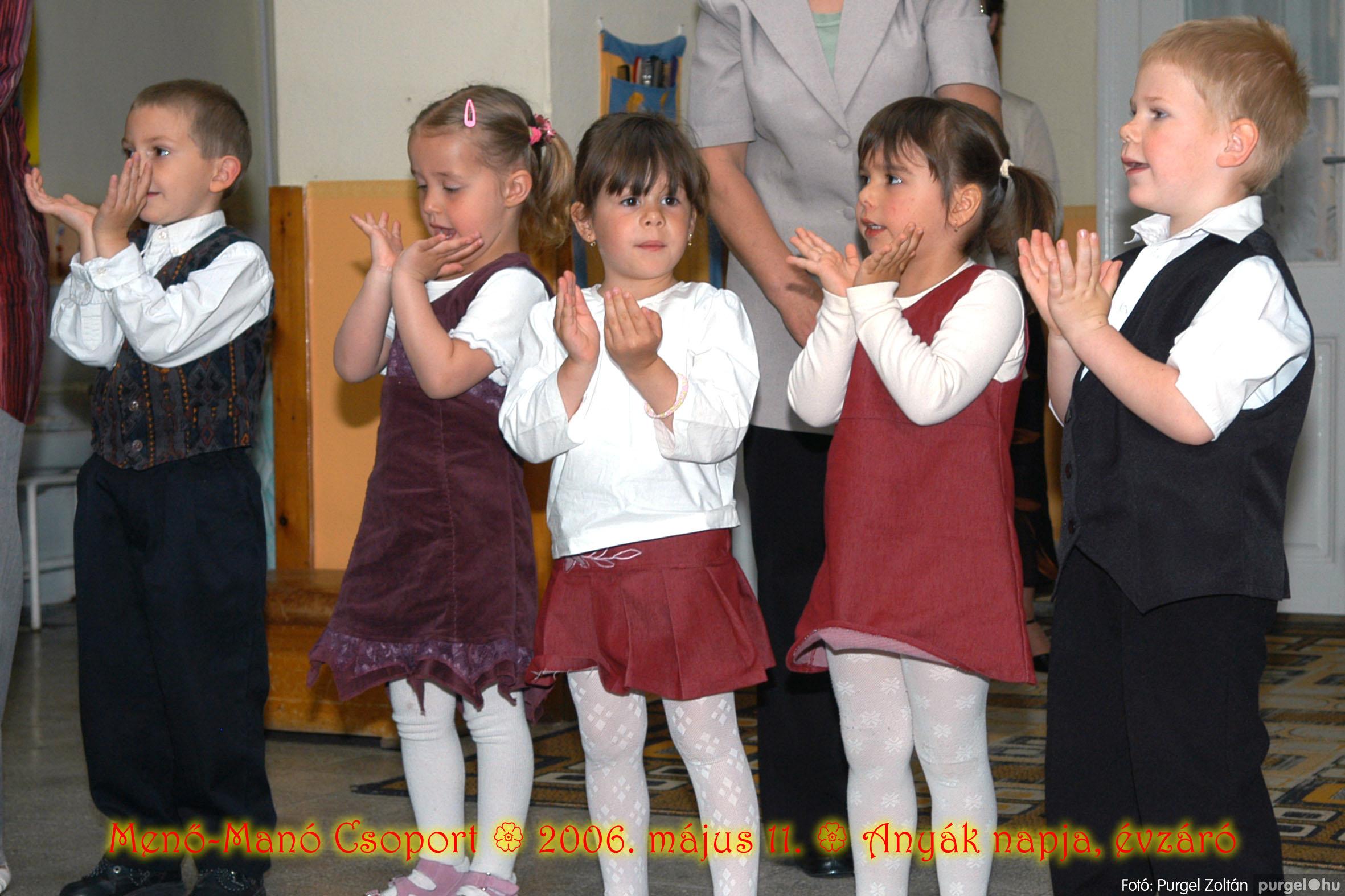 2006.05.11. 034 Kurca-parti Óvoda évzáró 2006. - Menő-Manó csoport - Fotó:PURGEL ZOLTÁN© 316.jpg