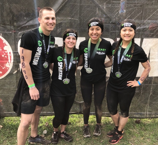 EWU ROTC Cadets compete in the 2019 Spartan Race in Montana