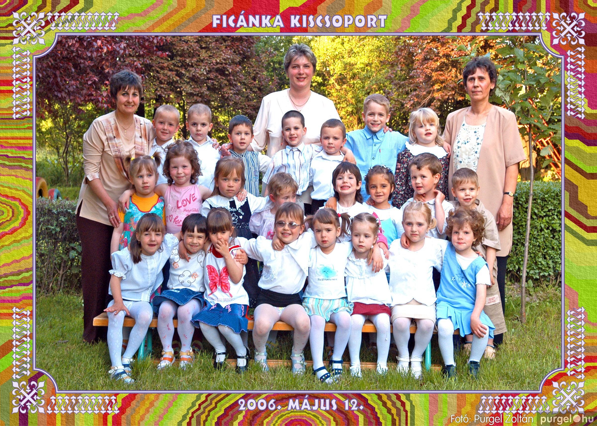 2006.05.10-27. 007 Kurca-parti Óvoda csoportképek 2006. - Fotó:PURGEL ZOLTÁN© csoport-252-ficánka.jpg
