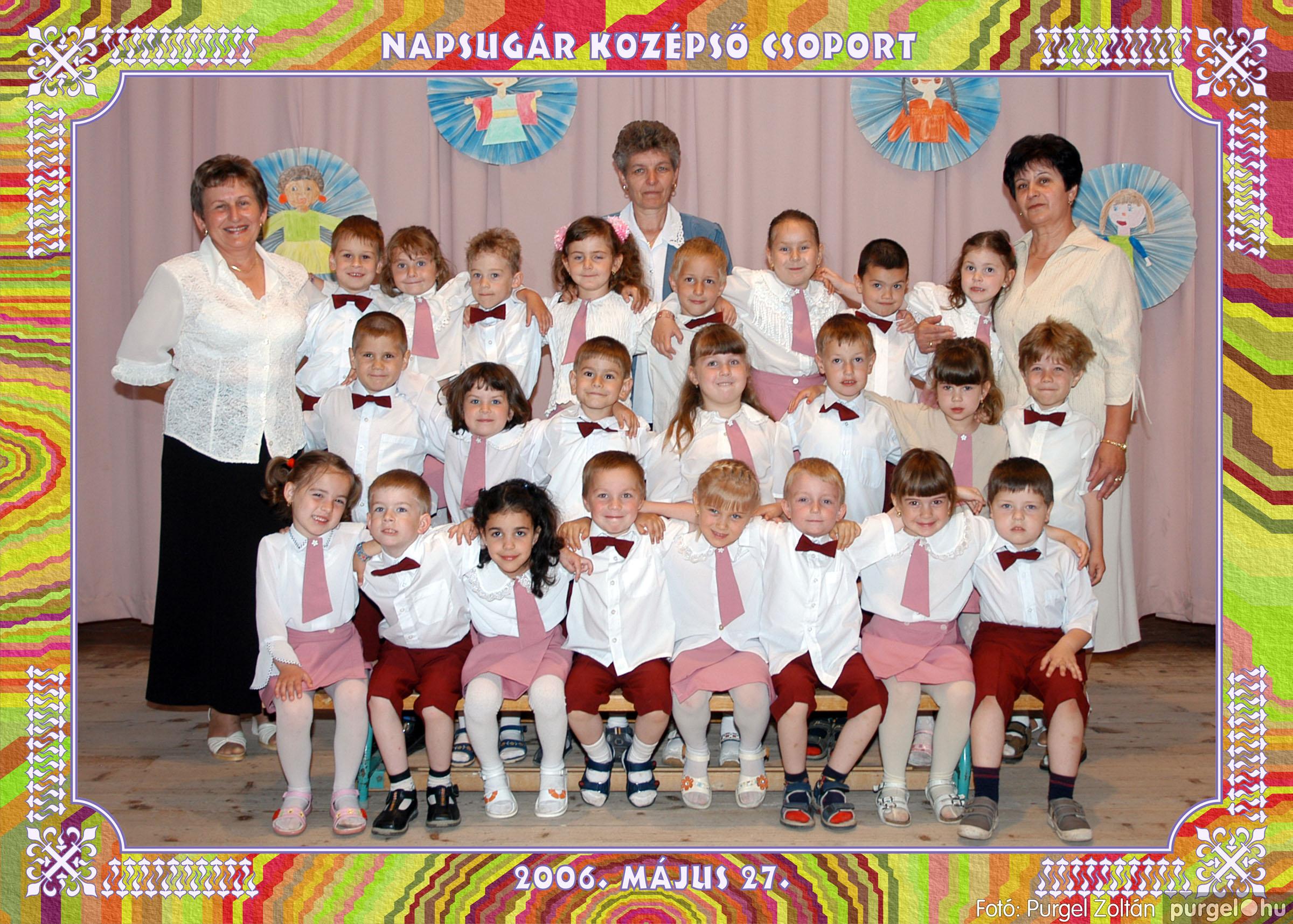 2006.05.10-27. 015 Kurca-parti Óvoda csoportképek 2006. - Fotó:PURGEL ZOLTÁN© csoport-452-napsugár.jpg