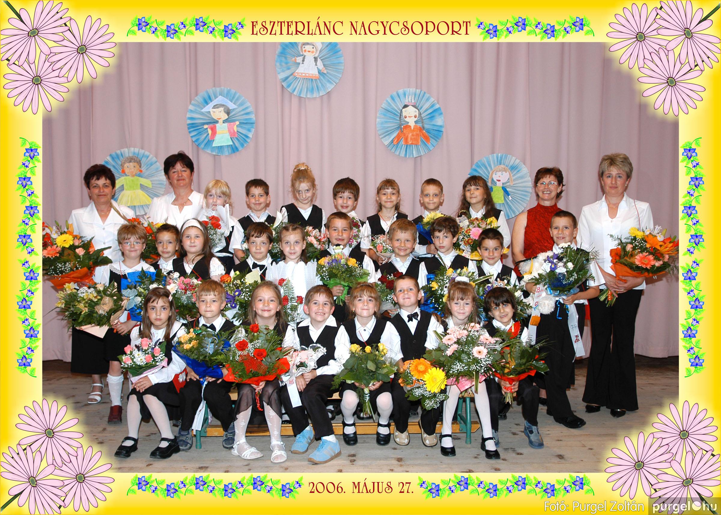2006.05.10-27. 001 Kurca-parti Óvoda csoportképek 2006. - Fotó:PURGEL ZOLTÁN© csoport-151-eszterlánc.jpg