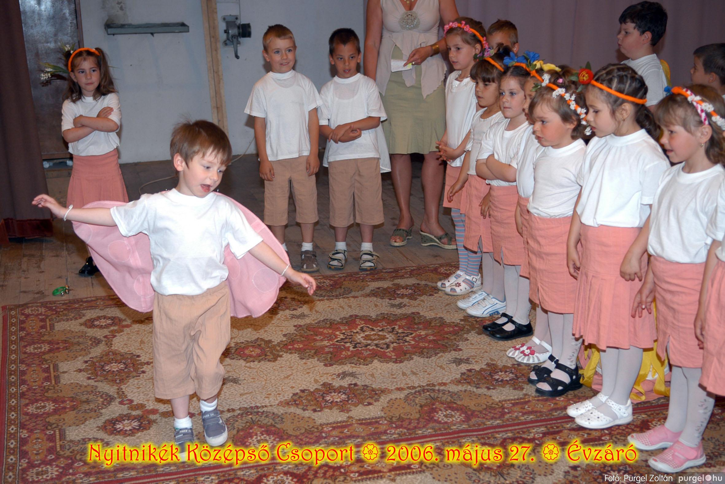 2006.05.27. 147 Kurca-parti Óvoda évzáró 2006. - Nyitnikék csoport - Fotó:PURGEL ZOLTÁN© 515.jpg