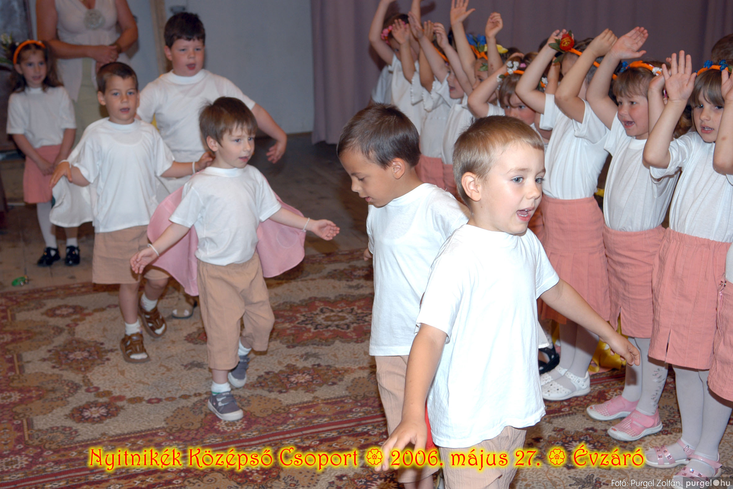 2006.05.27. 143 Kurca-parti Óvoda évzáró 2006. - Nyitnikék csoport - Fotó:PURGEL ZOLTÁN© 511.jpg