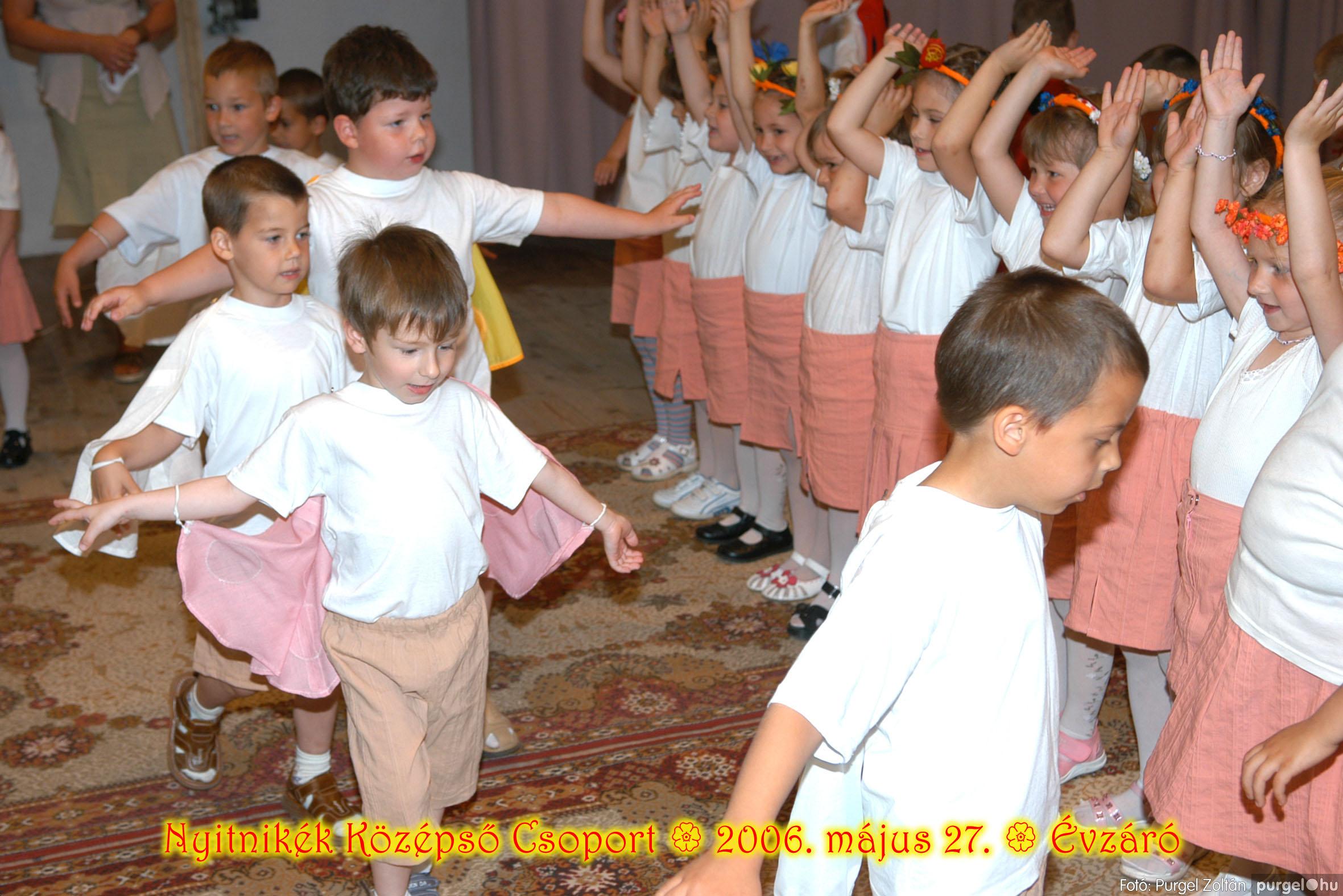 2006.05.27. 140 Kurca-parti Óvoda évzáró 2006. - Nyitnikék csoport - Fotó:PURGEL ZOLTÁN© 508.jpg