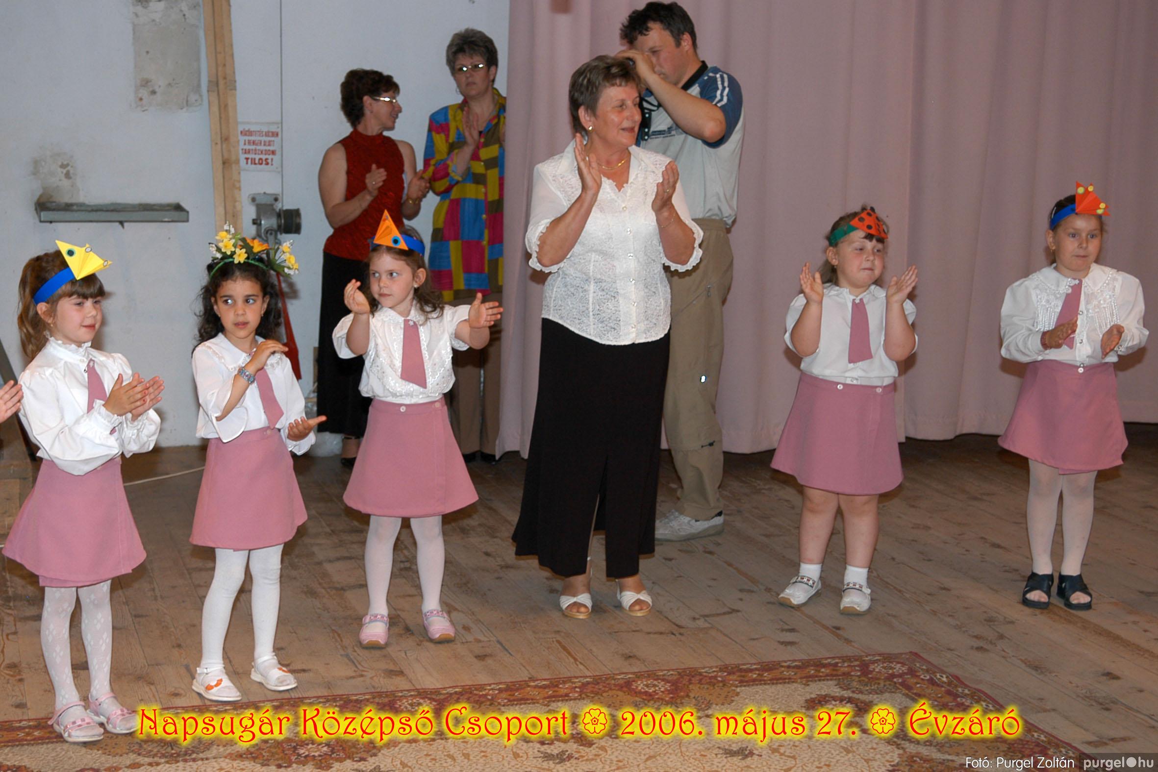 2006.05.27. 129 Kurca-parti Óvoda évzáró 2006. - Napsugár csoport - Fotó:PURGEL ZOLTÁN© 427.jpg