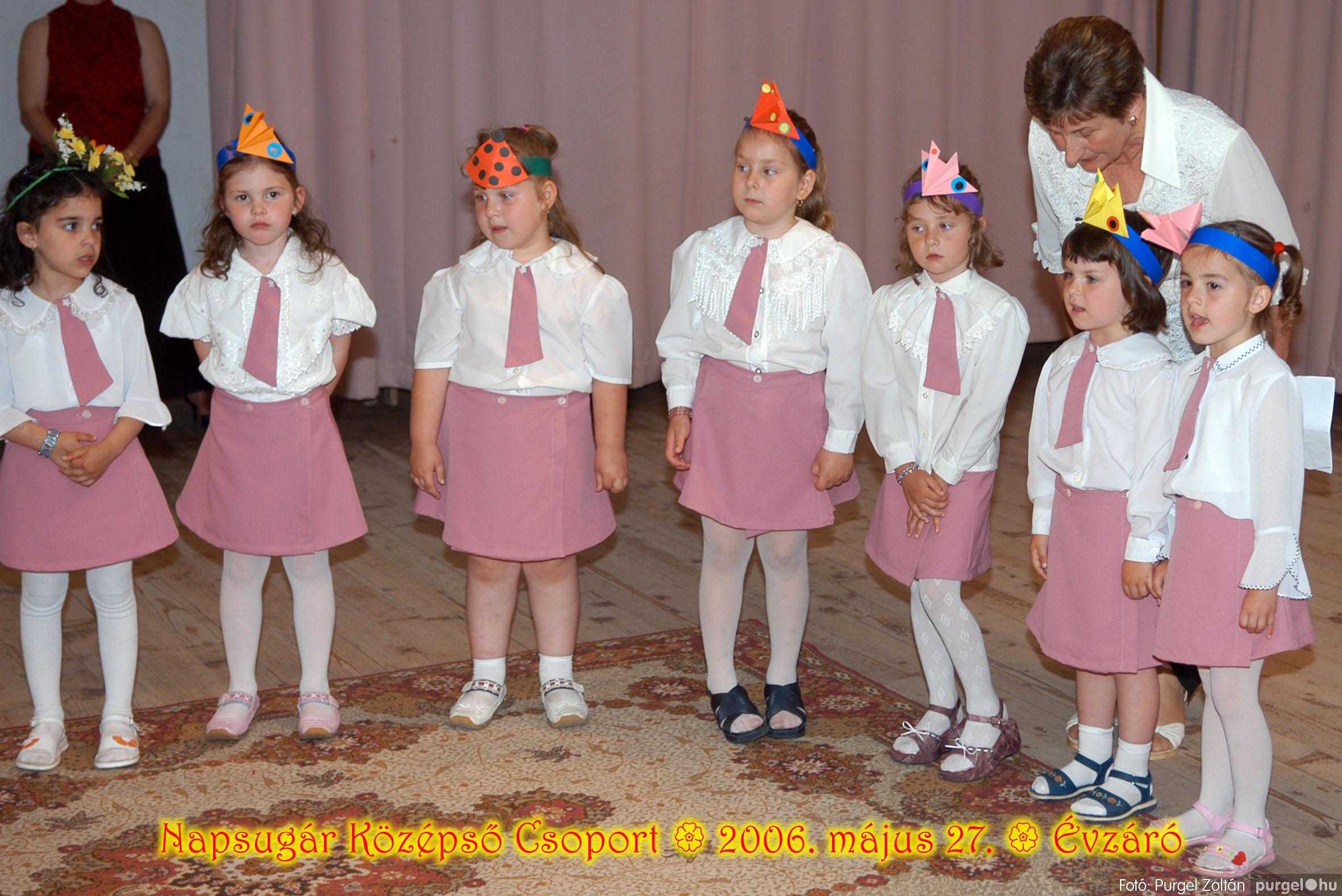 2006.05.27. 117 Kurca-parti Óvoda évzáró 2006. - Napsugár csoport - Fotó:PURGEL ZOLTÁN© 415.jpg