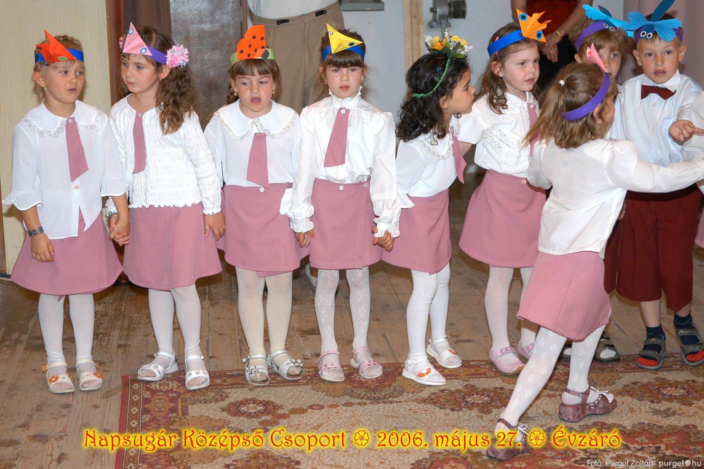 2006.05.27. 112 Kurca-parti Óvoda évzáró 2006. - Napsugár csoport - Fotó:PURGEL ZOLTÁN© 410.jpg