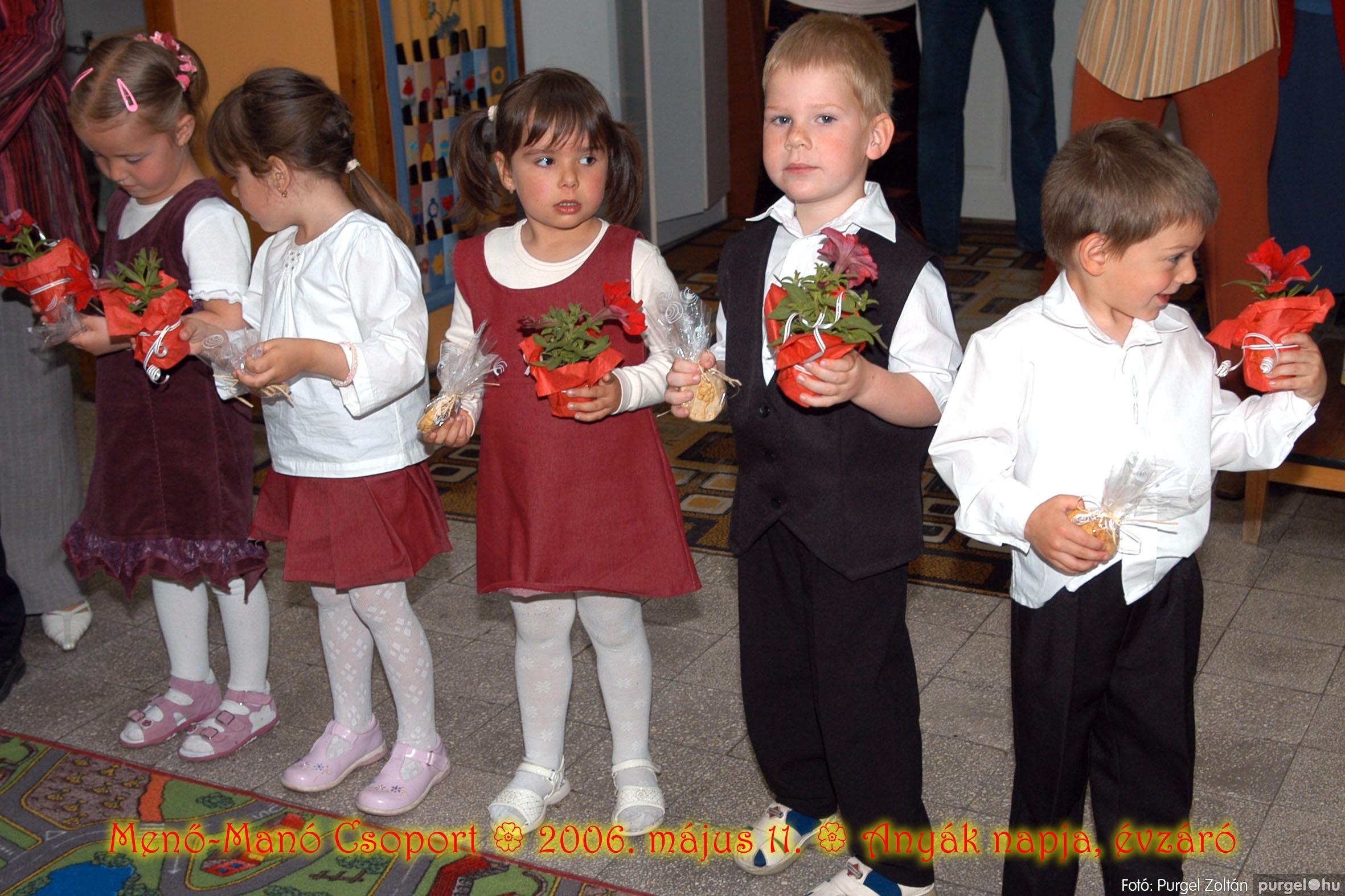2006.05.11. 036 Kurca-parti Óvoda évzáró 2006. - Menő-Manó csoport - Fotó:PURGEL ZOLTÁN© 318.jpg