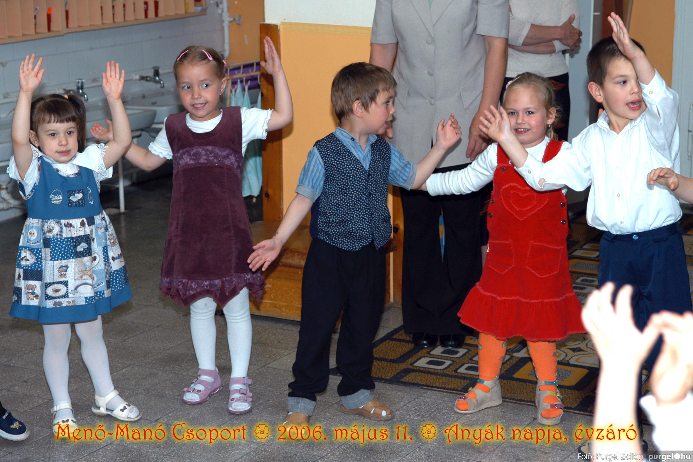 2006.05.11. 019 Kurca-parti Óvoda évzáró 2006. - Menő-Manó csoport - Fotó:PURGEL ZOLTÁN© 301.jpg