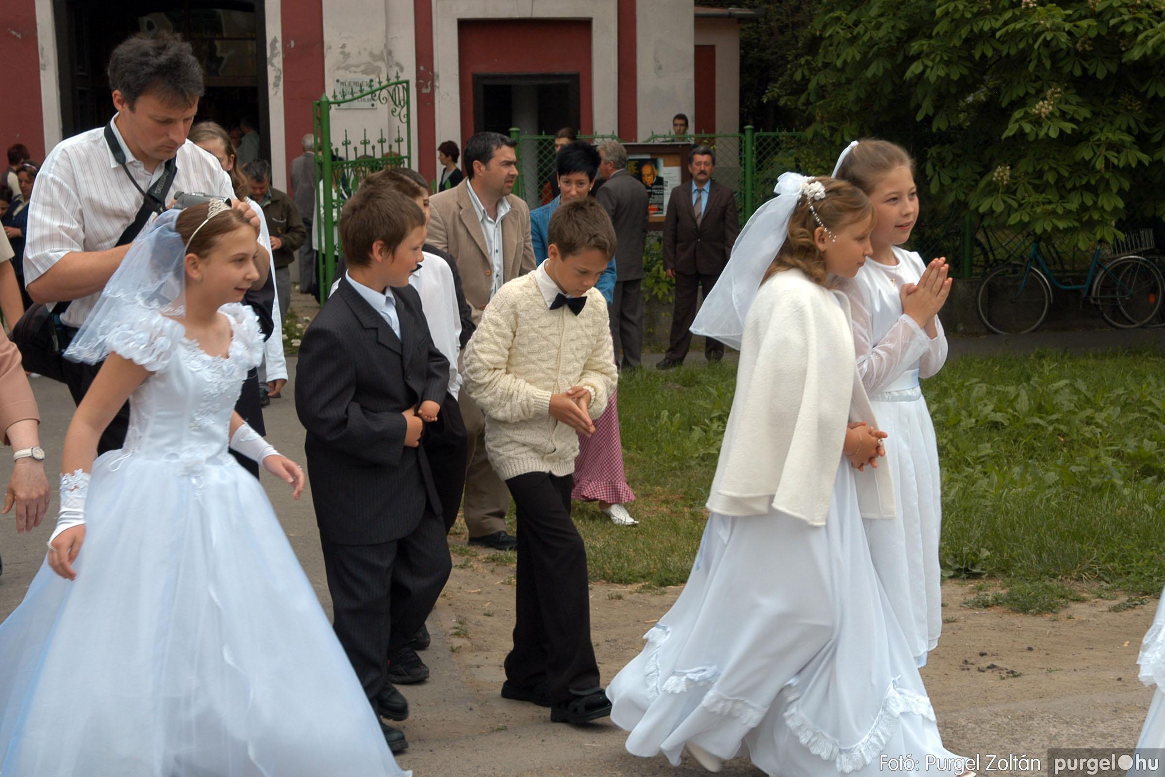 2006.05.21. 073 Kisboldogasszony templom elsőáldozás - Fotó:PURGEL ZOLTÁN© DSC_0342q.jpg
