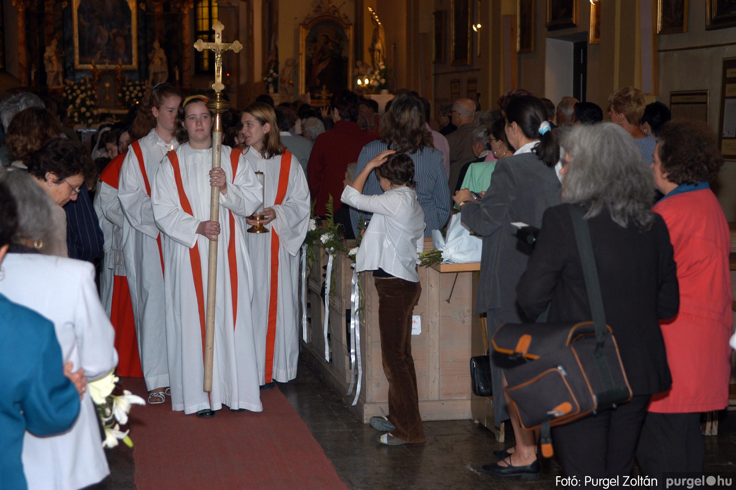 2006.05.21. 065 Kisboldogasszony templom elsőáldozás - Fotó:PURGEL ZOLTÁN© DSC_0333q.jpg