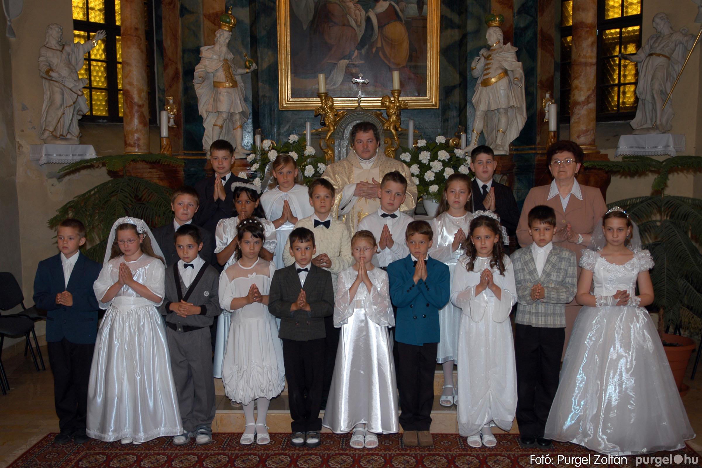2006.05.21. 063 Kisboldogasszony templom elsőáldozás - Fotó:PURGEL ZOLTÁN© DSC_0329q.jpg